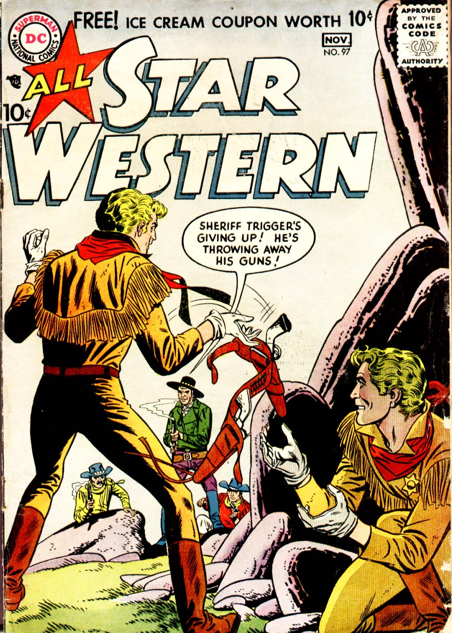 Read online All-Star Western (1951) comic -  Issue #97 - 1