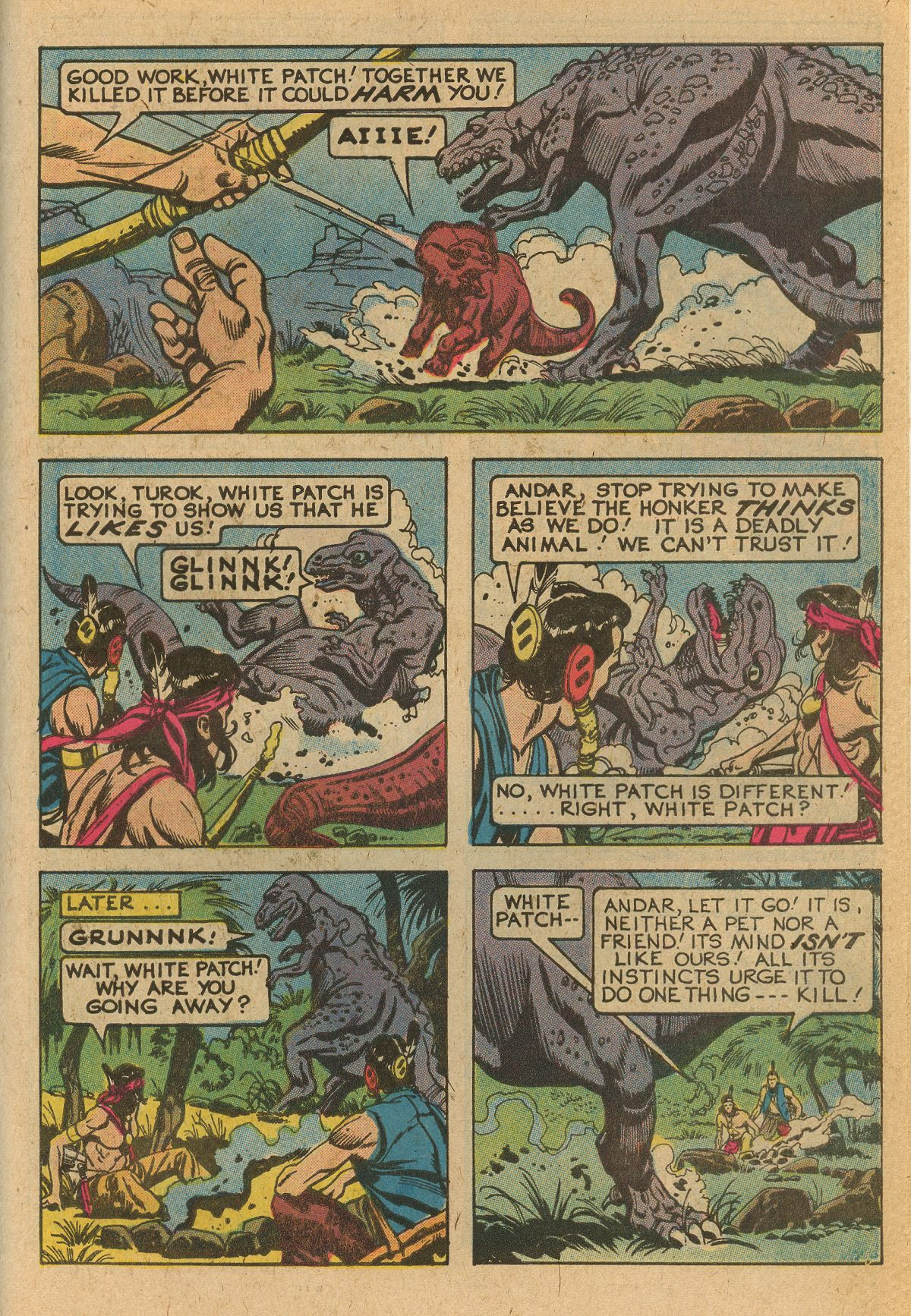 Read online Turok, Son of Stone comic -  Issue #115 - 43