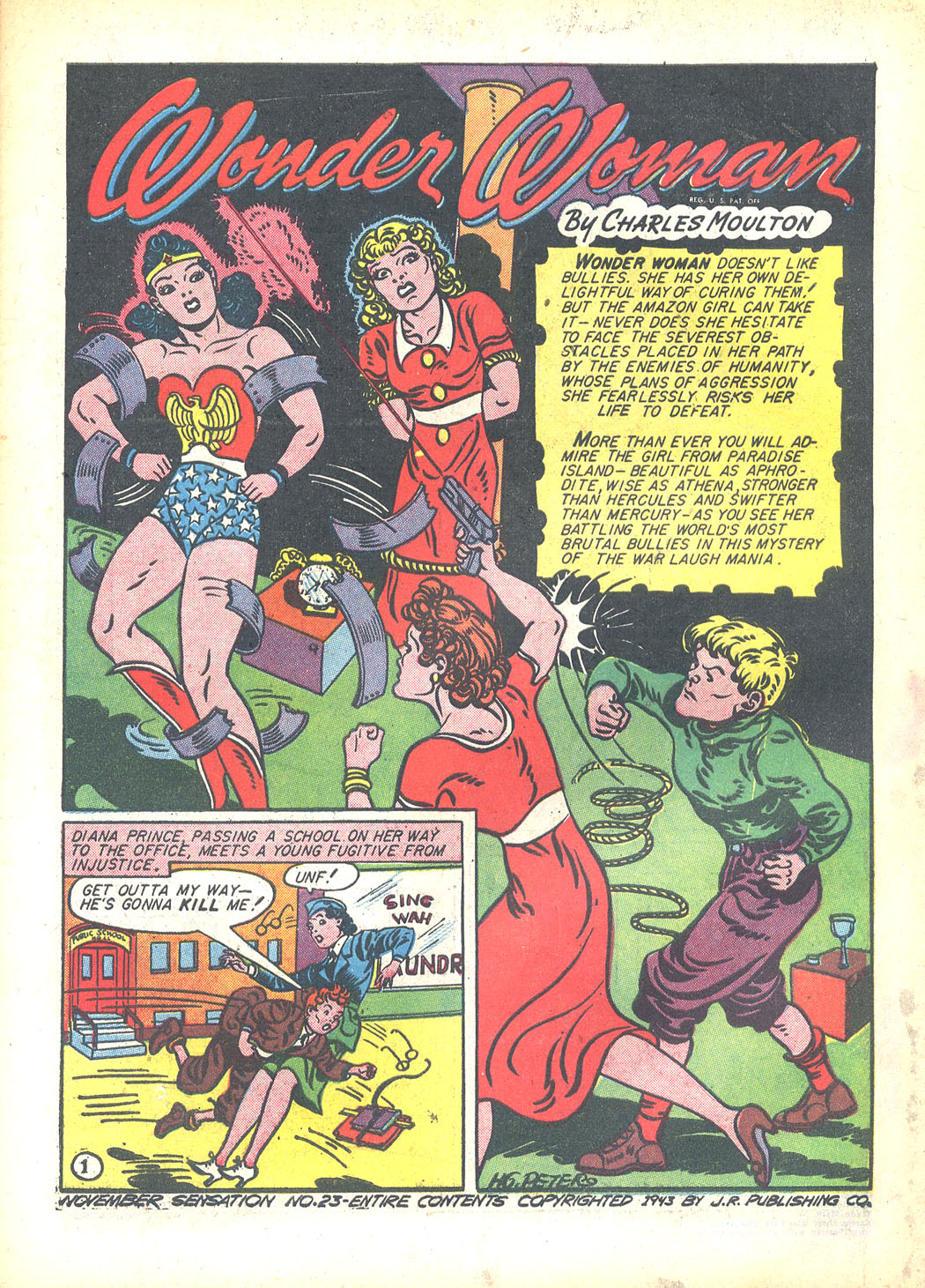 Read online Sensation (Mystery) Comics comic -  Issue #23 - 3