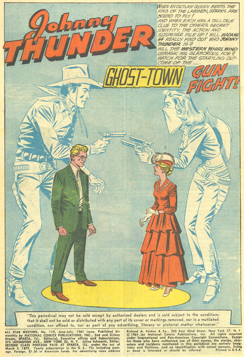 Read online All-Star Western (1951) comic -  Issue #119 - 3