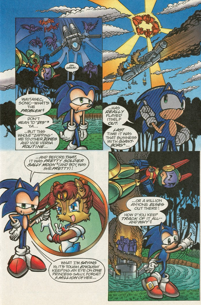 Read online Sonic Super Special comic -  Issue #12 - Sonic and Knuckles visa versa - 21