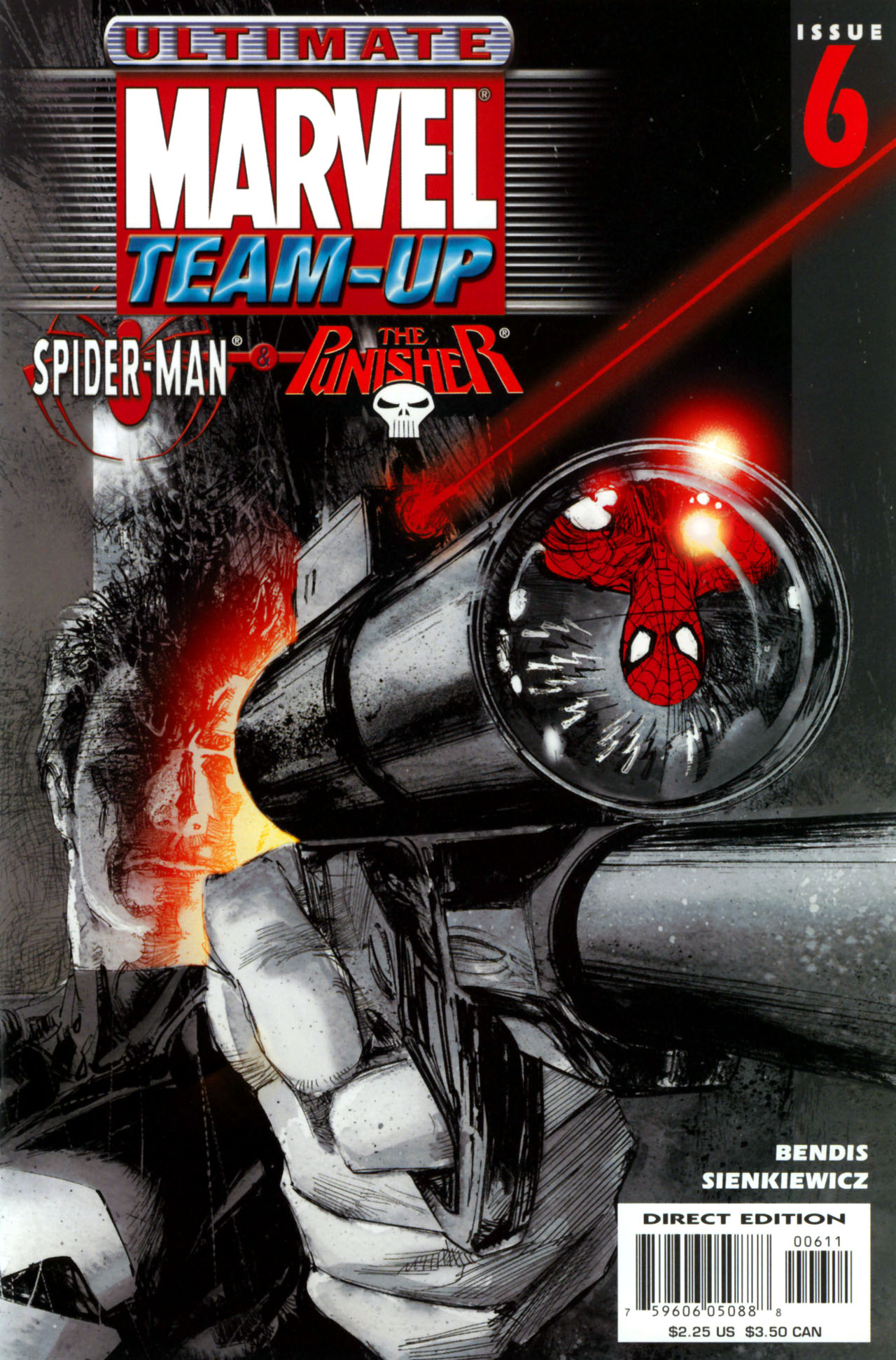 Read online Ultimate Marvel Team-Up comic -  Issue #6 - 1