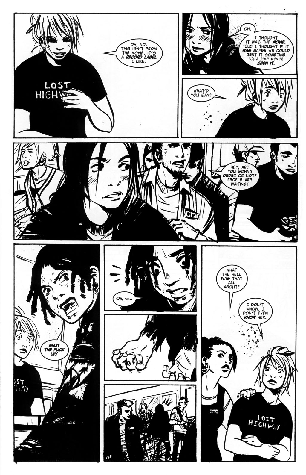 Read online Demo comic -  Issue #5 - 14