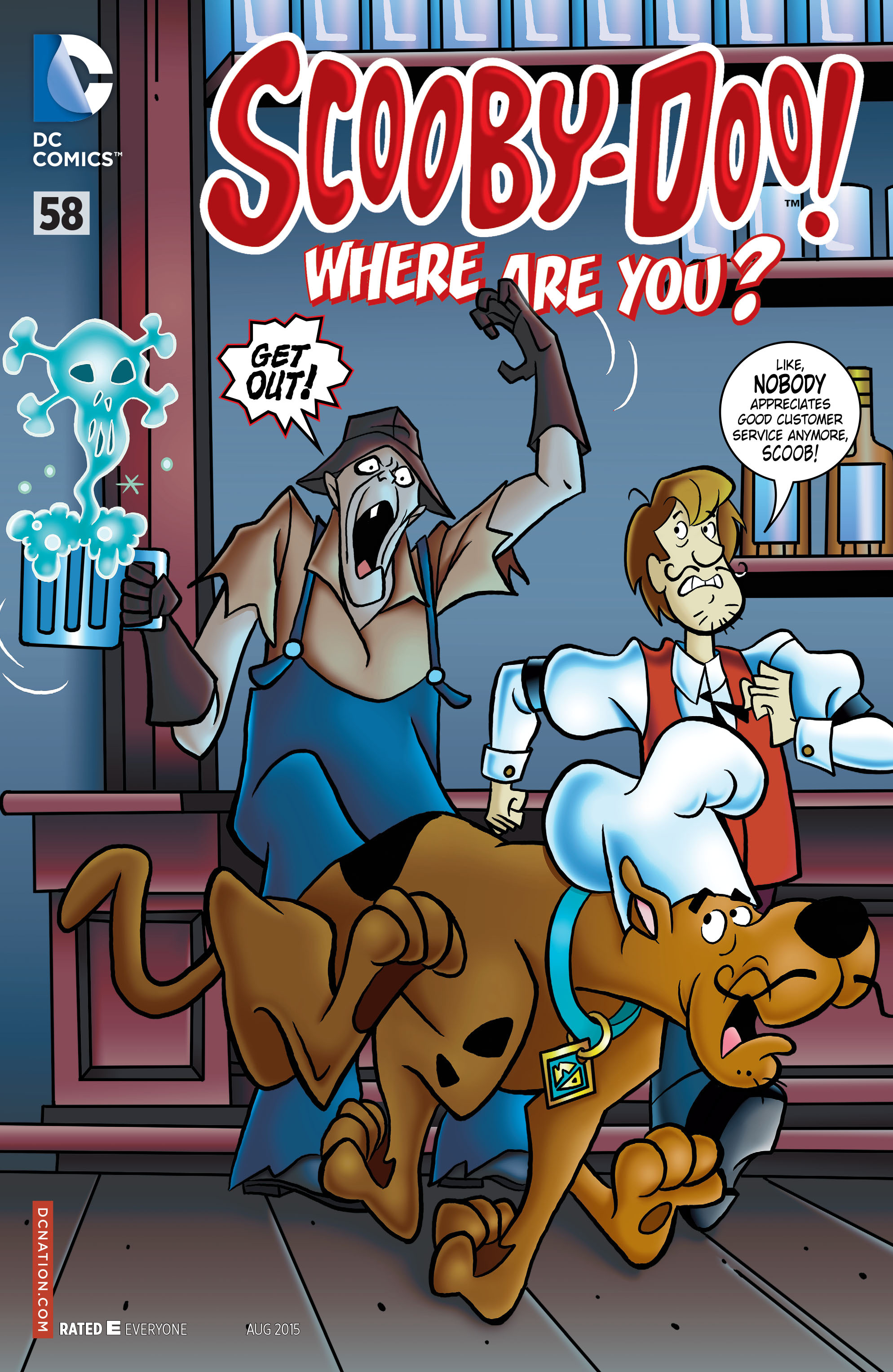 Read online Scooby-Doo: Where Are You? comic -  Issue #58 - 1