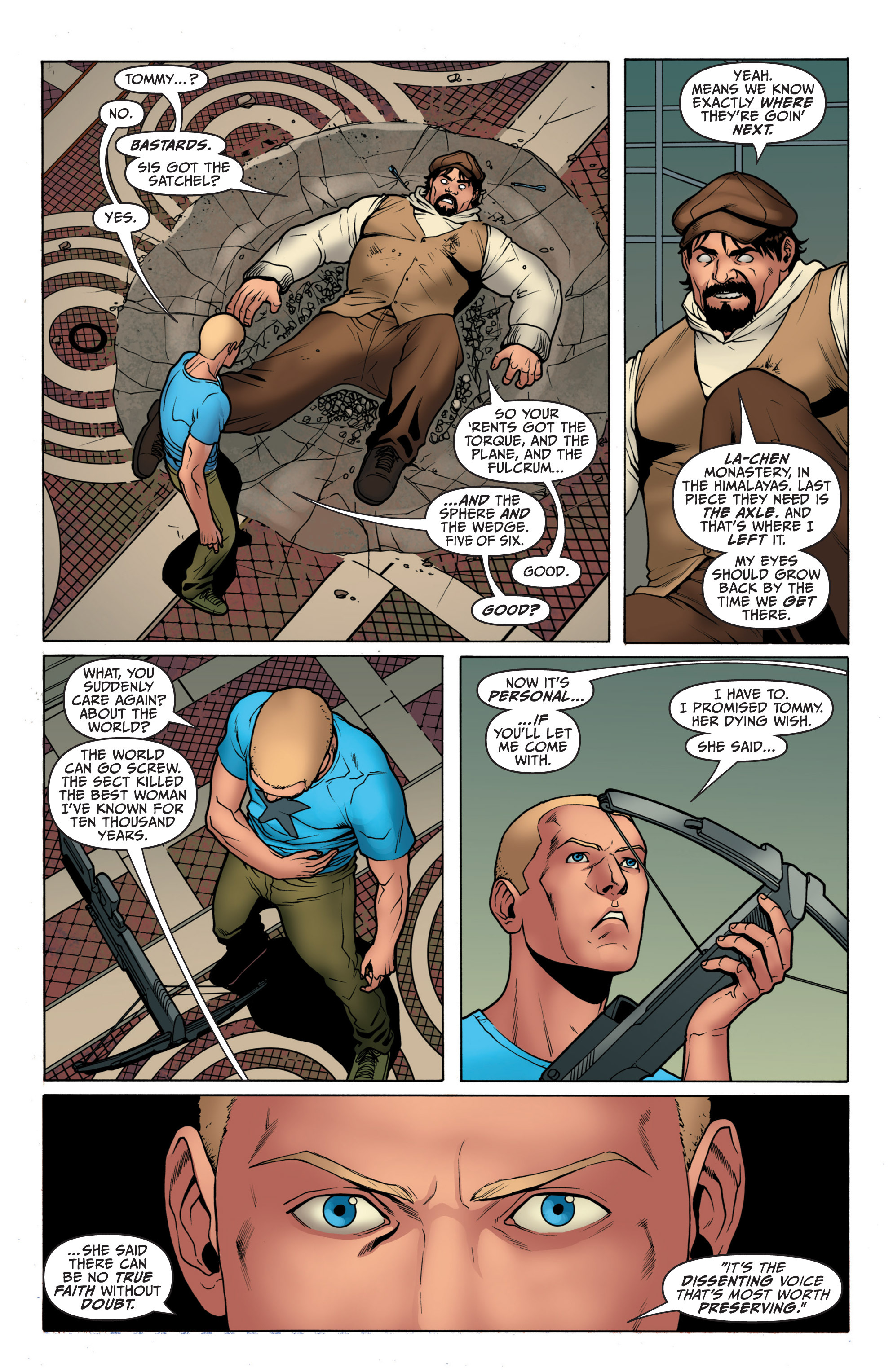 Read online Archer and Armstrong comic -  Issue #3 - 23