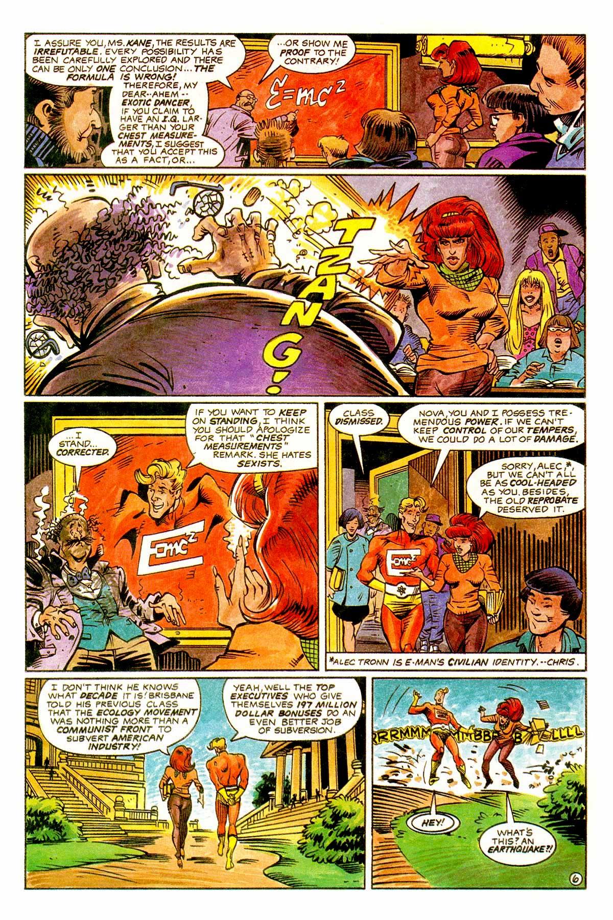Read online E-man (1993) comic -  Issue # Full - 9