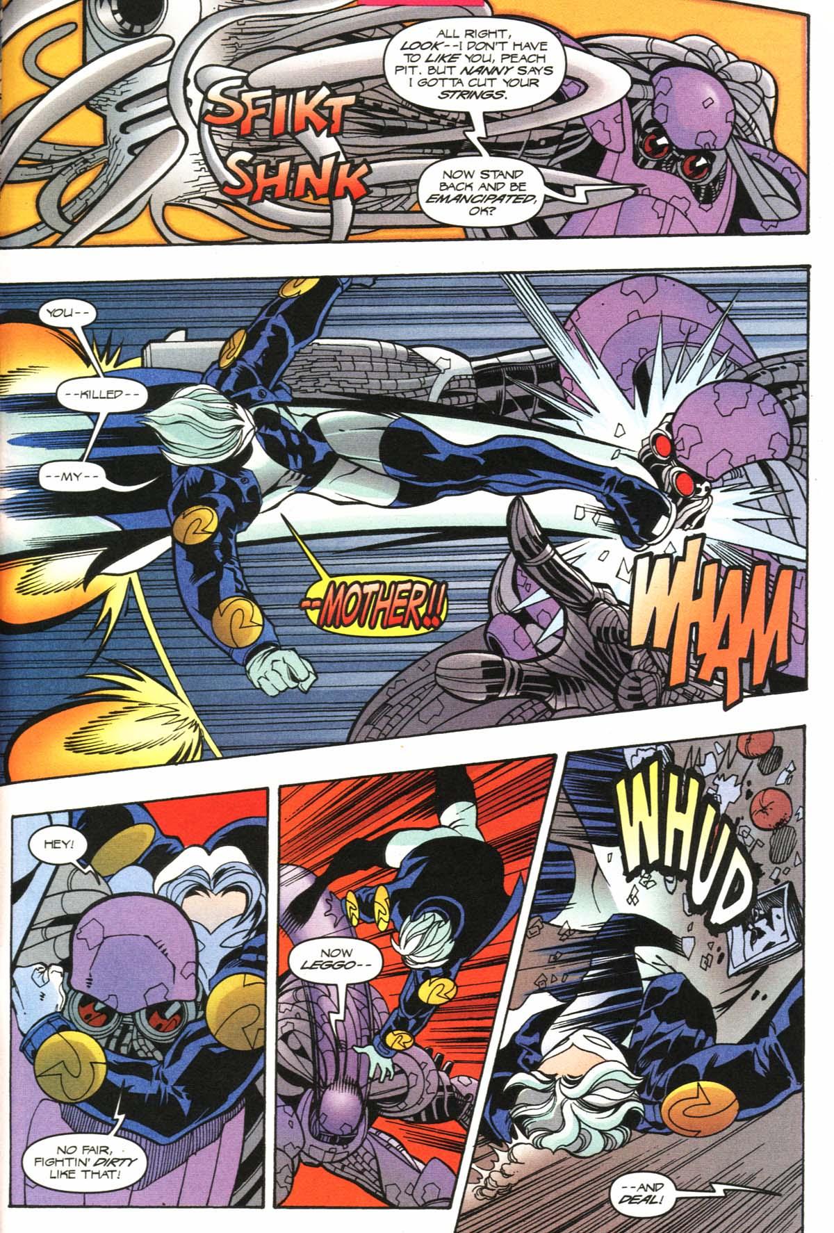 Read online Slingers comic -  Issue #9 - 20