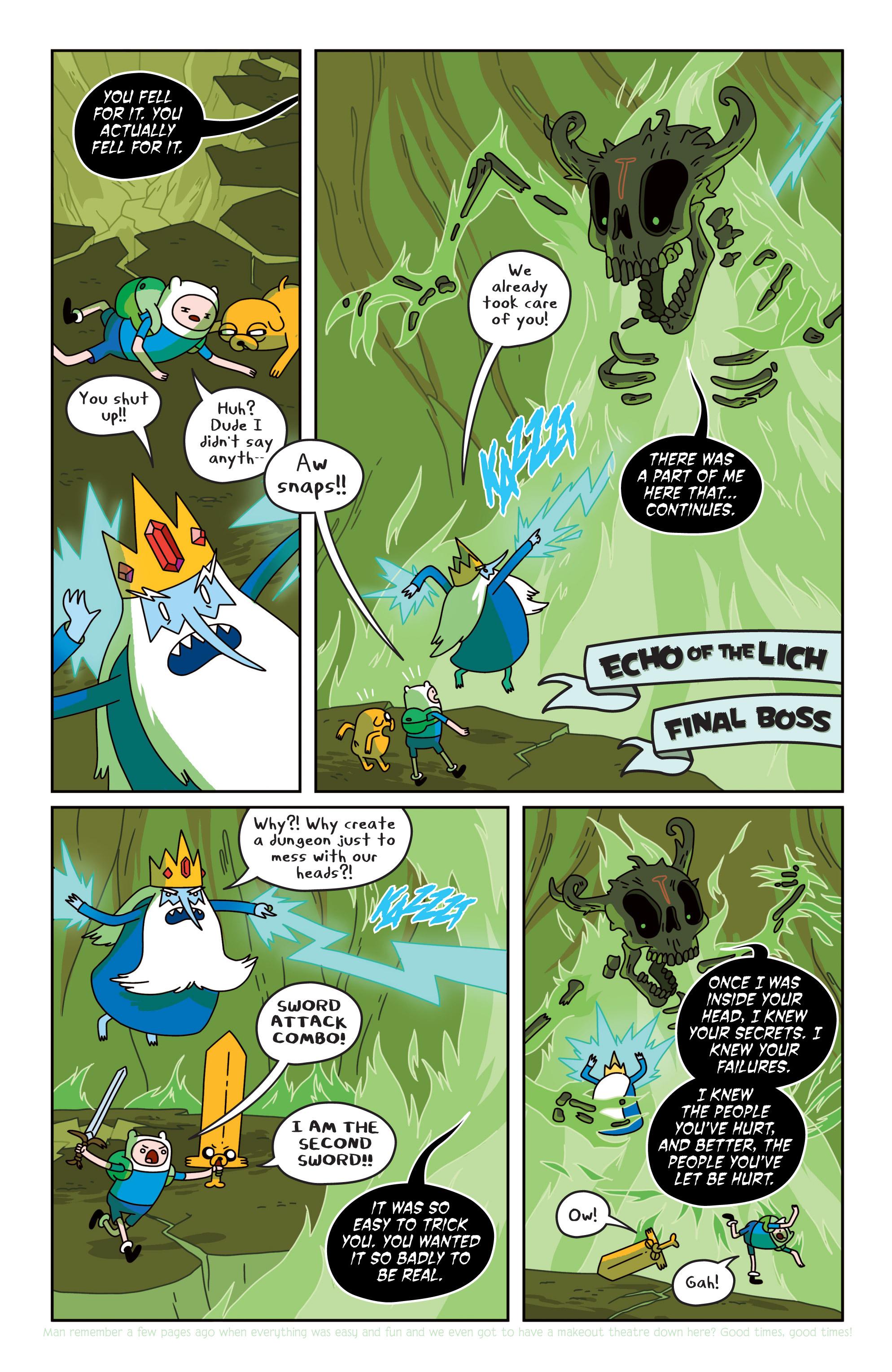 Read online Adventure Time comic -  Issue #19 - 18