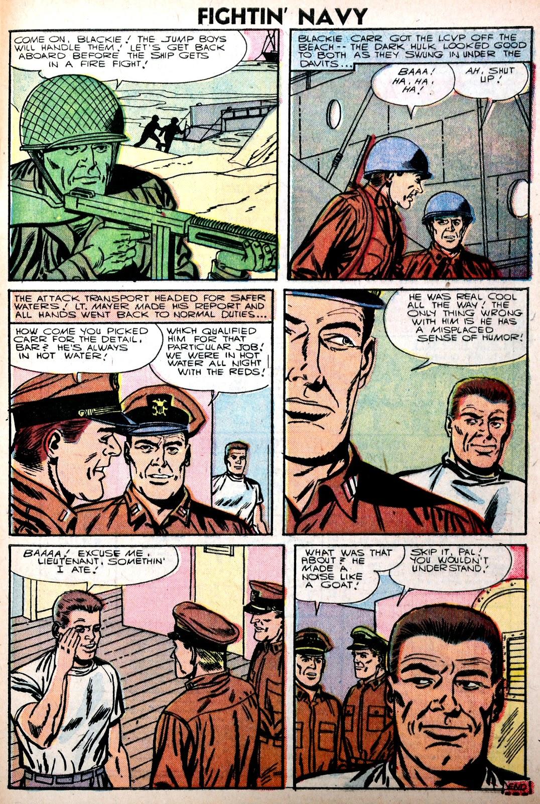 Read online Fightin' Navy comic -  Issue #75 - 33
