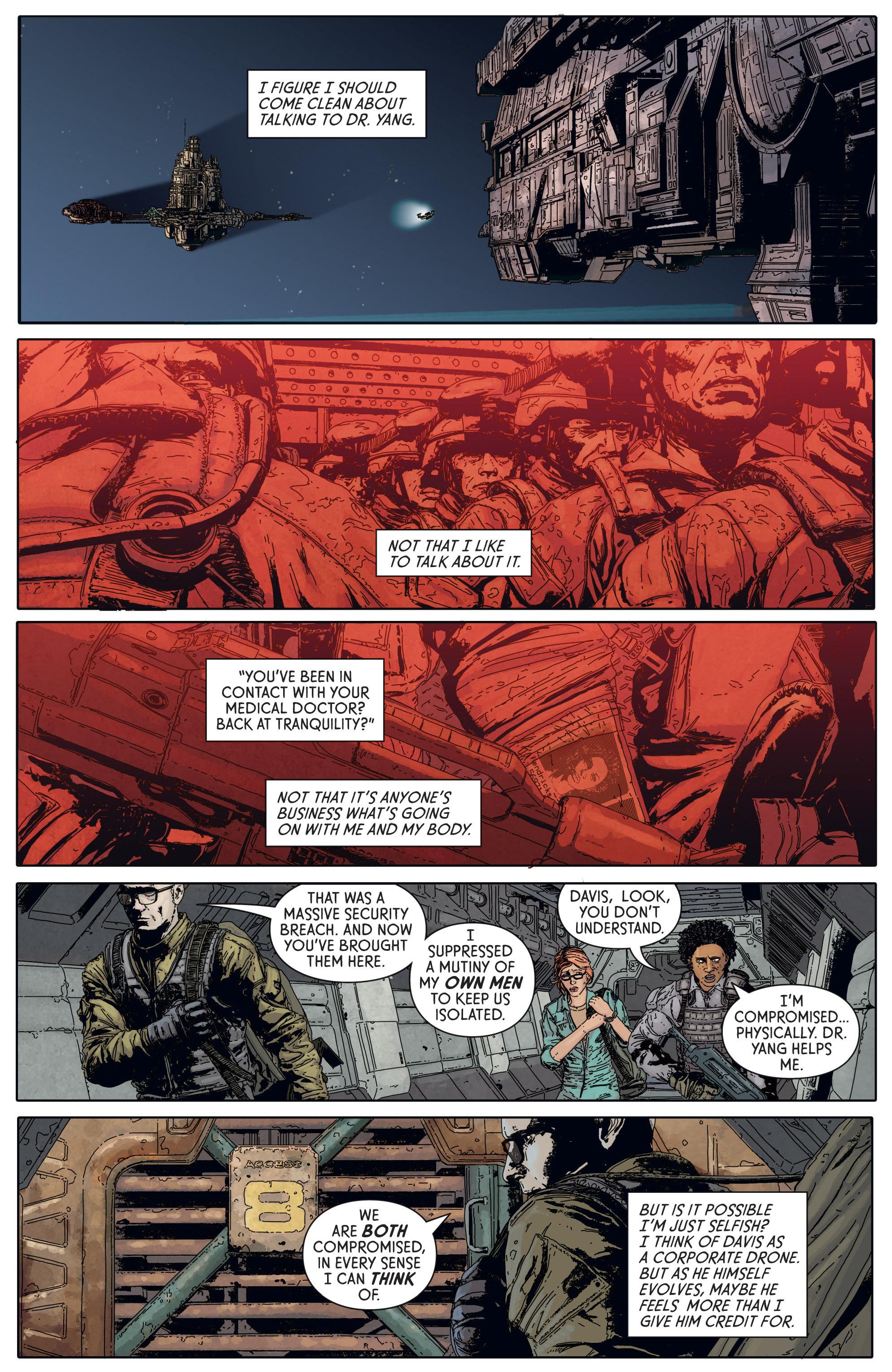 Read online Aliens: Defiance comic -  Issue #5 - 17