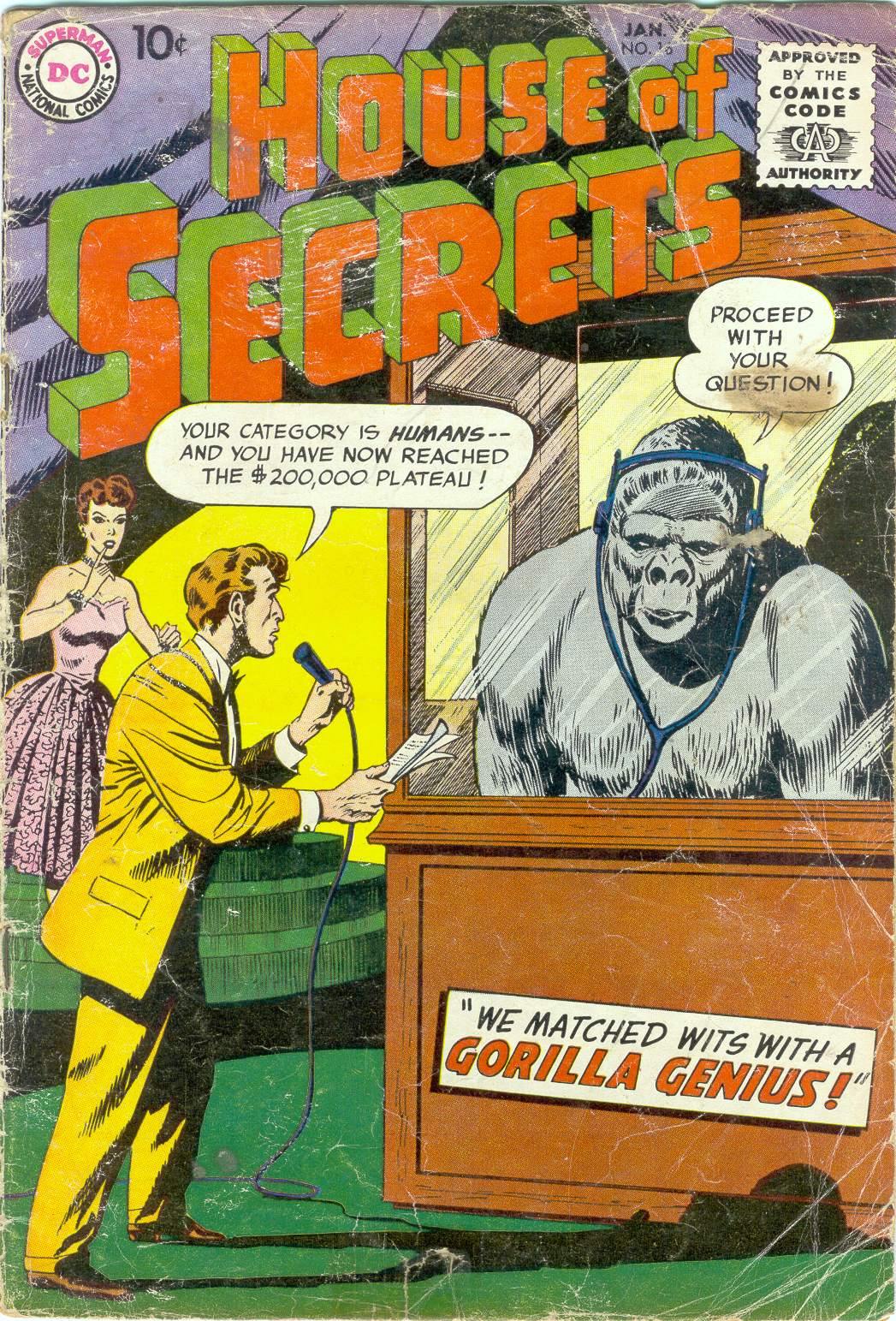 House of Secrets (1956) issue 16 - Page 1