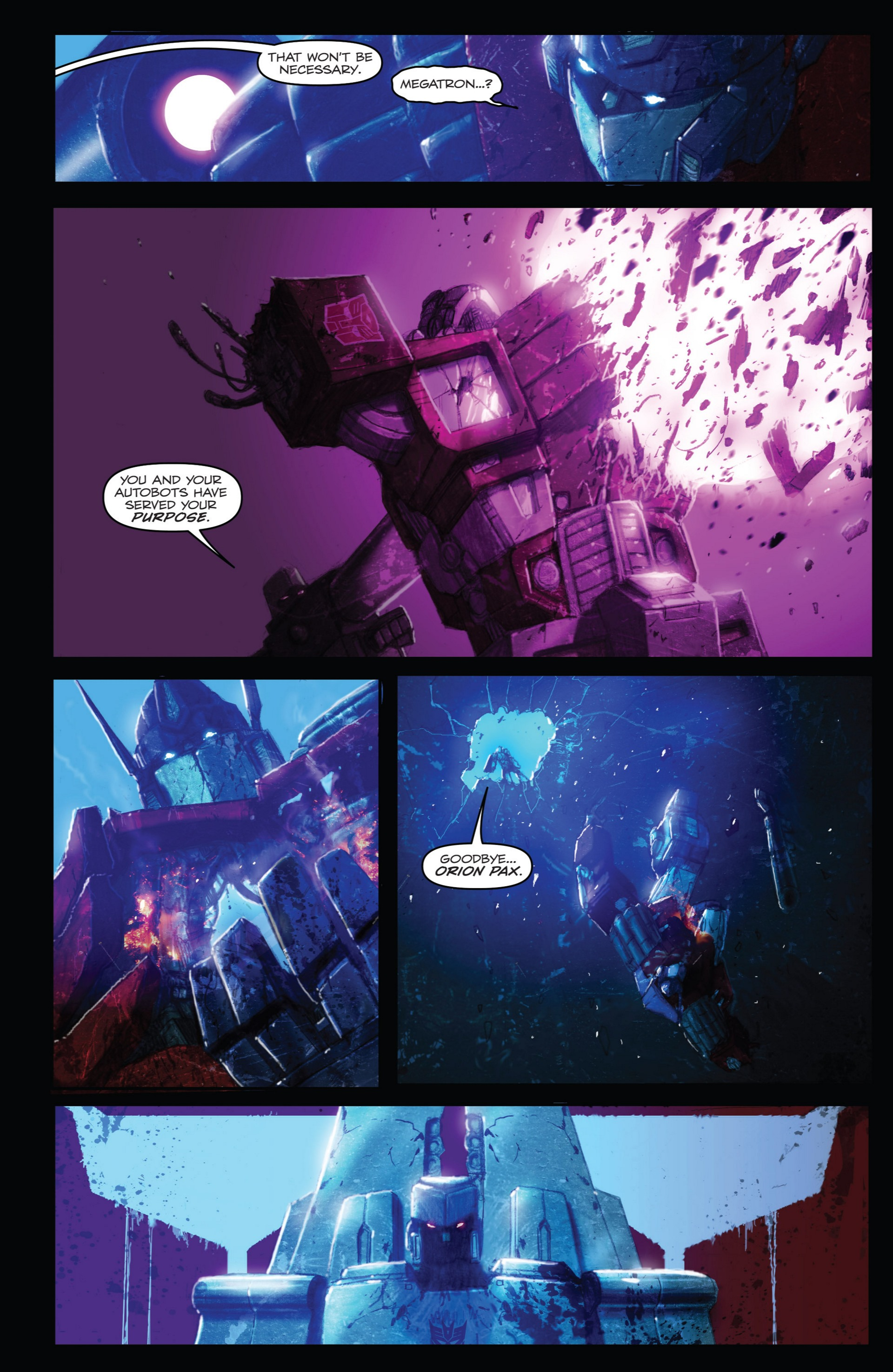 Read online Transformers: Autocracy comic -  Issue # Full - 78