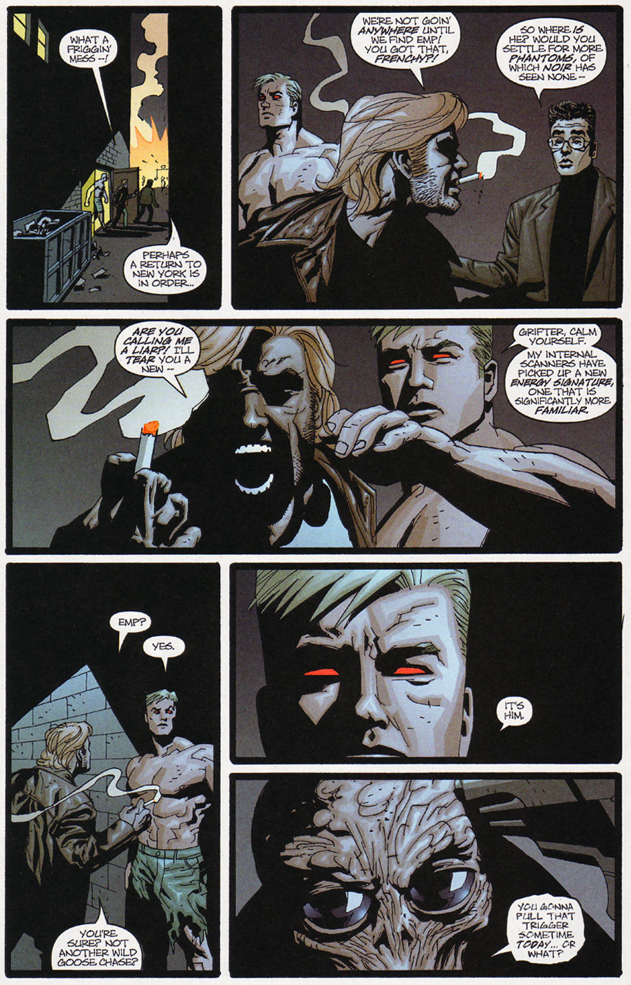 Wildcats (1999) Issue #10 #11 - English 6