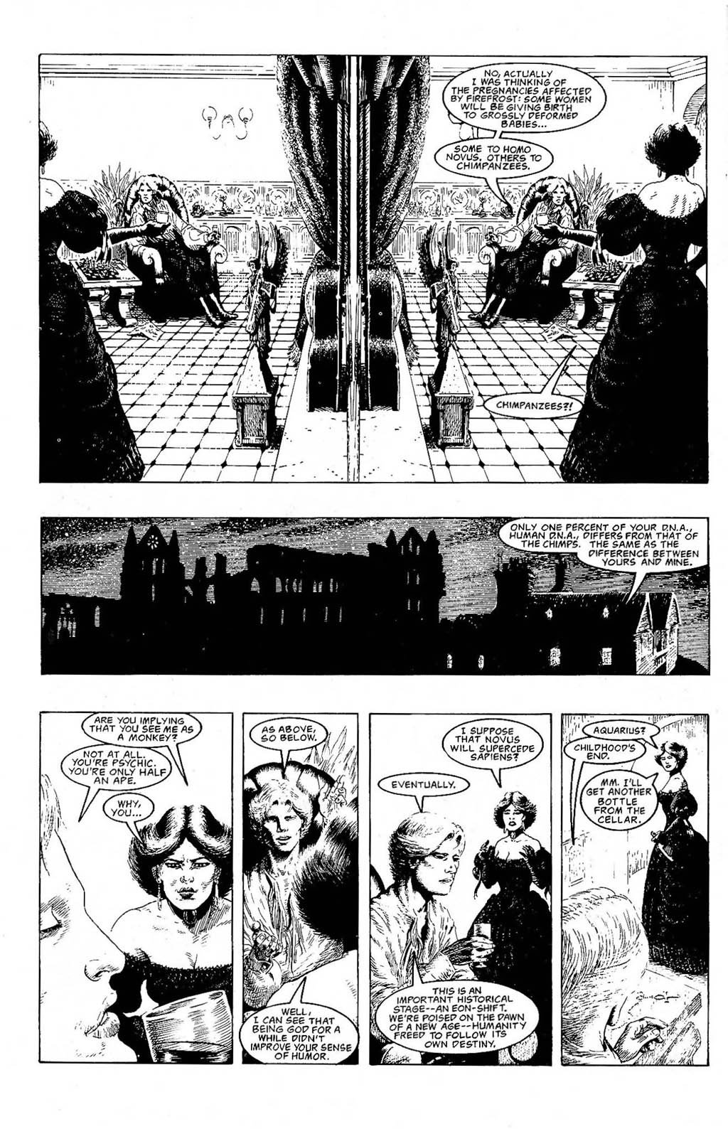 Read online The Adventures of Luther Arkwright comic -  Issue #9 - 26