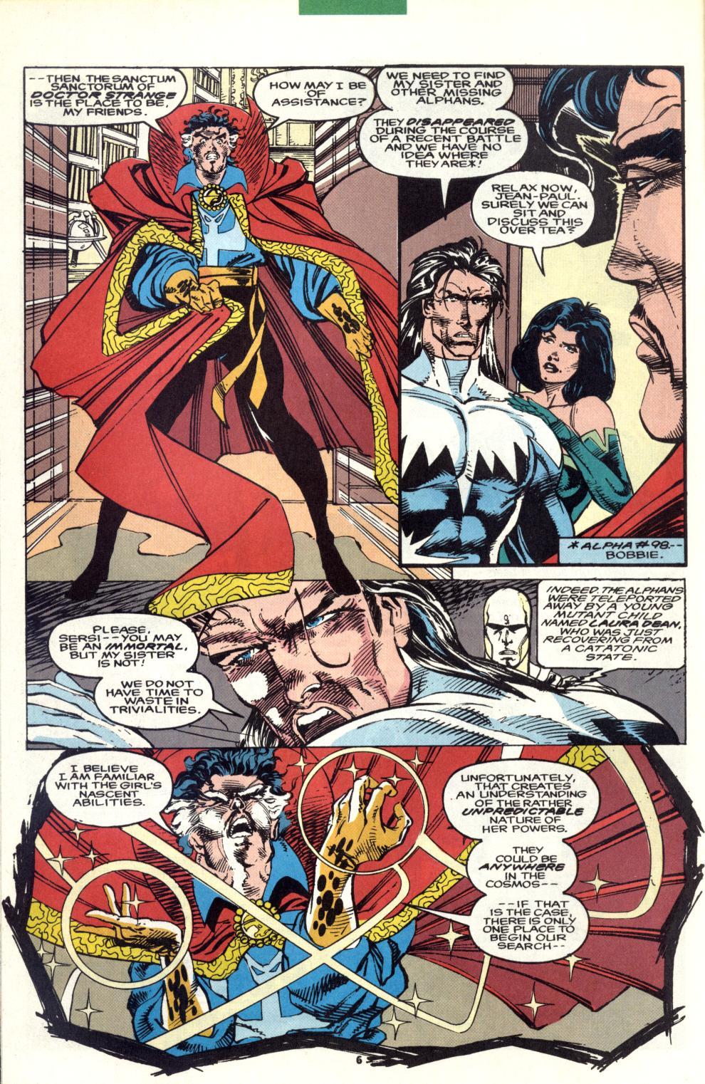 Read online Alpha Flight (1983) comic -  Issue #101 - 6