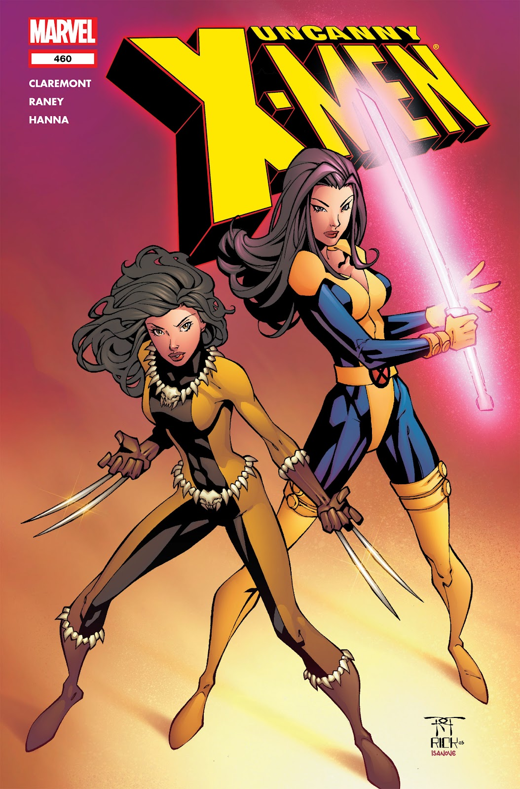 Uncanny X-Men (1963) issue 460 - Page 1