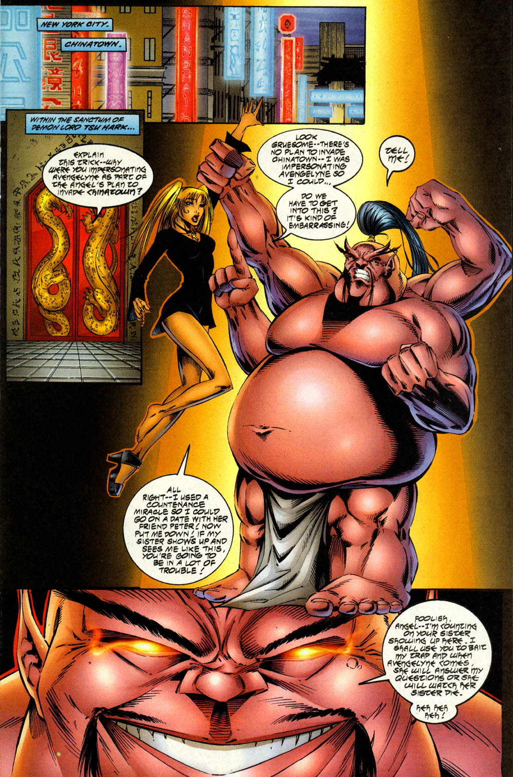 Read online Avengelyne (1996) comic -  Issue #7 - 3