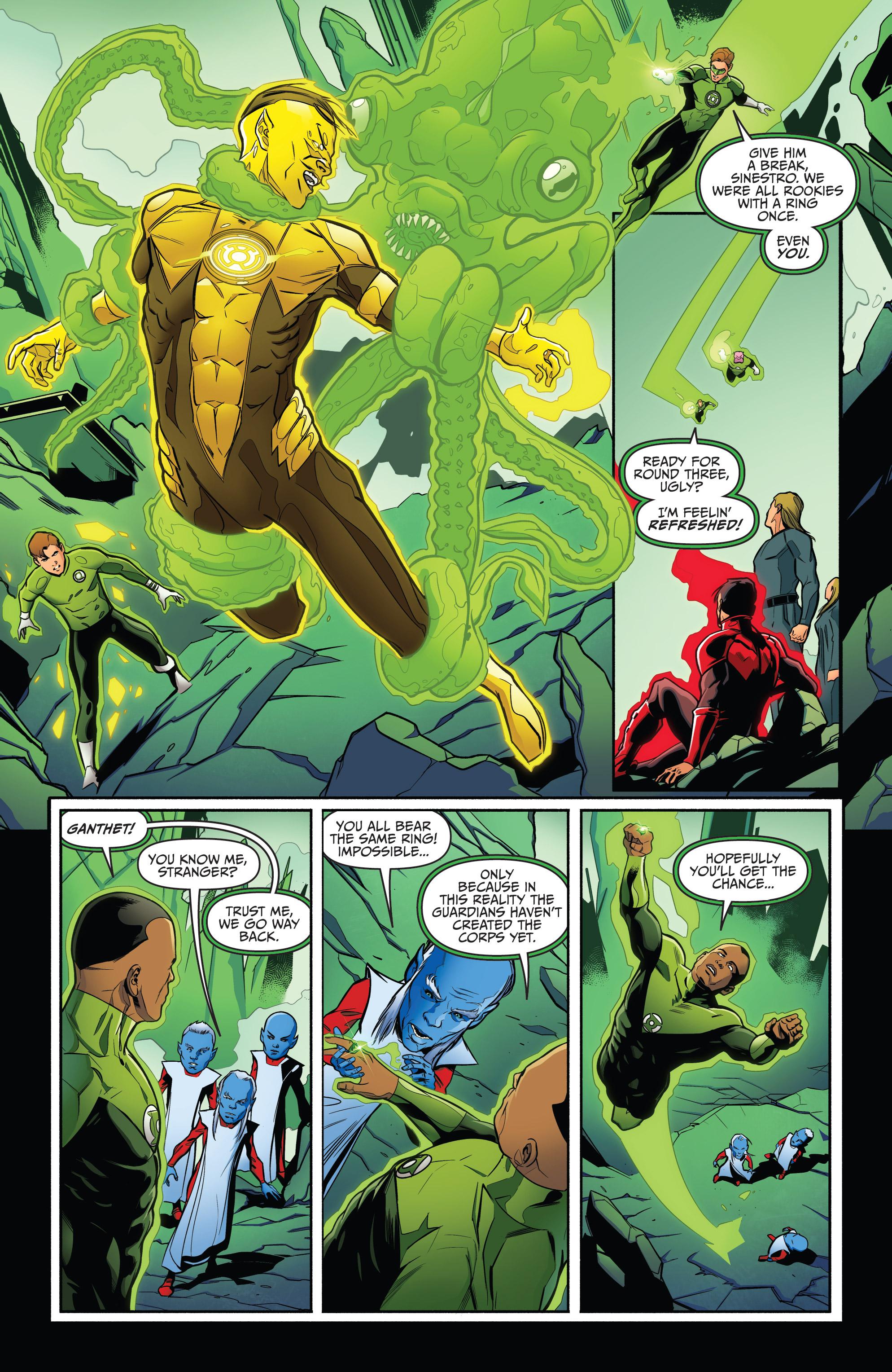 Read online Star Trek/Green Lantern (2016) comic -  Issue #6 - 7
