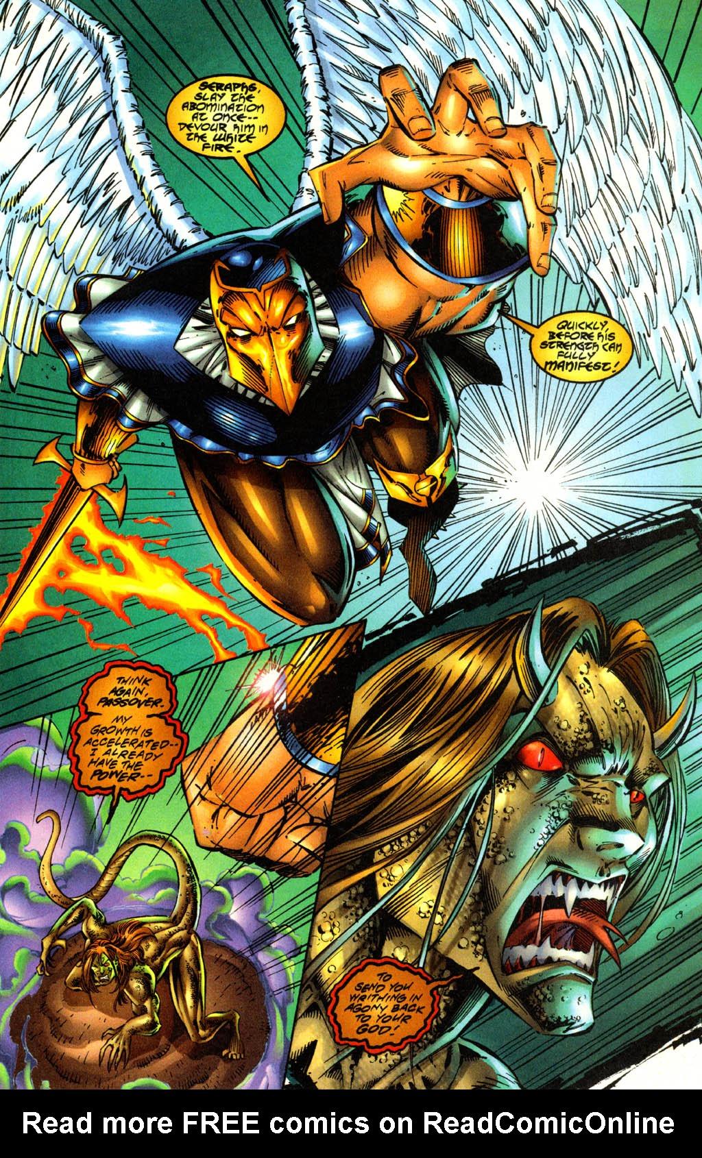 Read online Avengelyne (1996) comic -  Issue #3 - 6