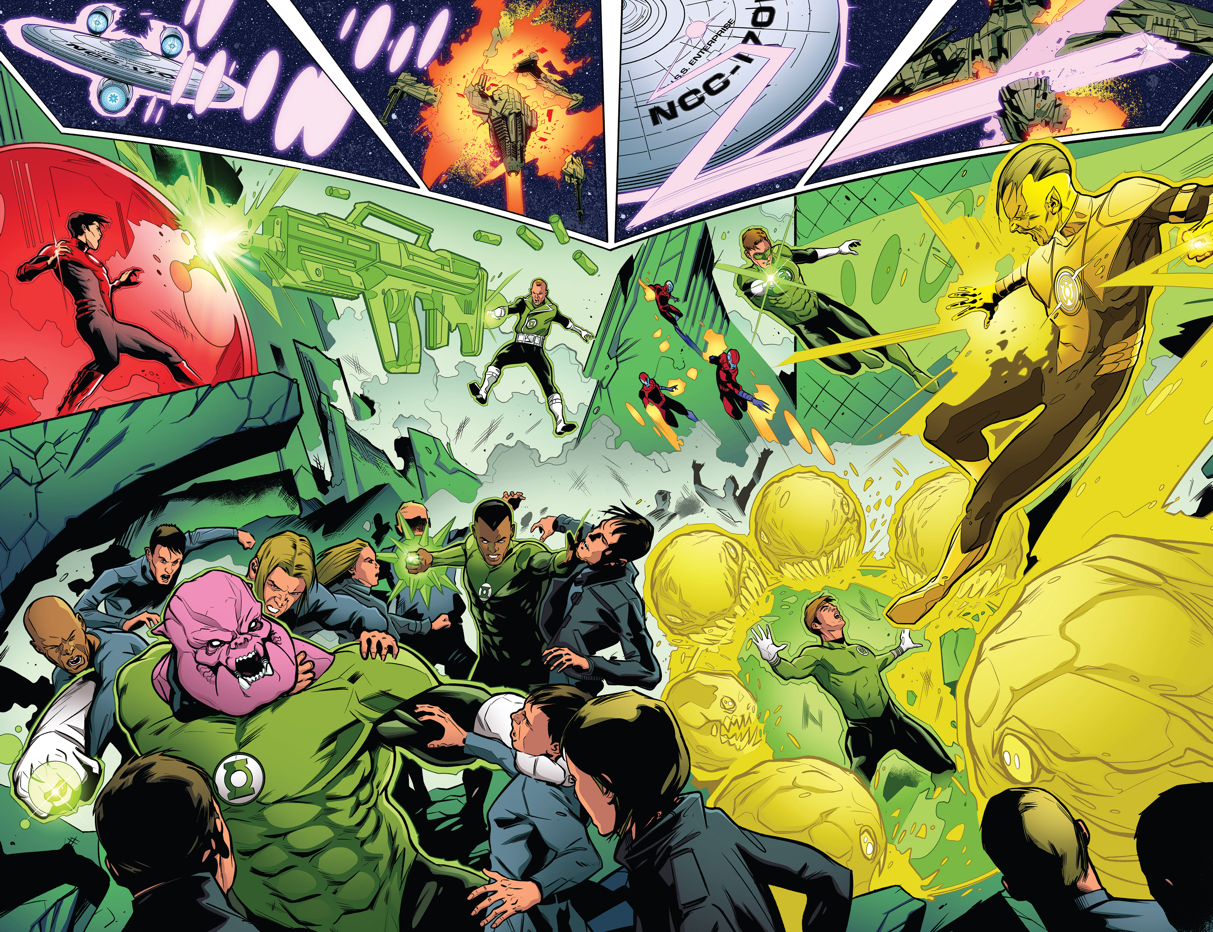 Read online Star Trek/Green Lantern (2016) comic -  Issue #6 - 11