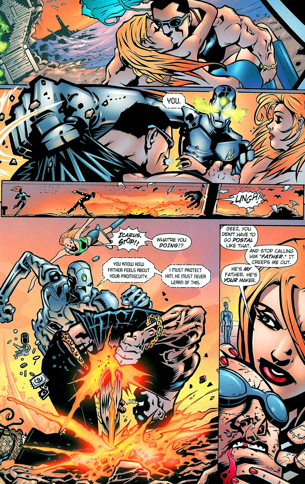 Read online Noble Causes (2002) comic -  Issue #1 - 11
