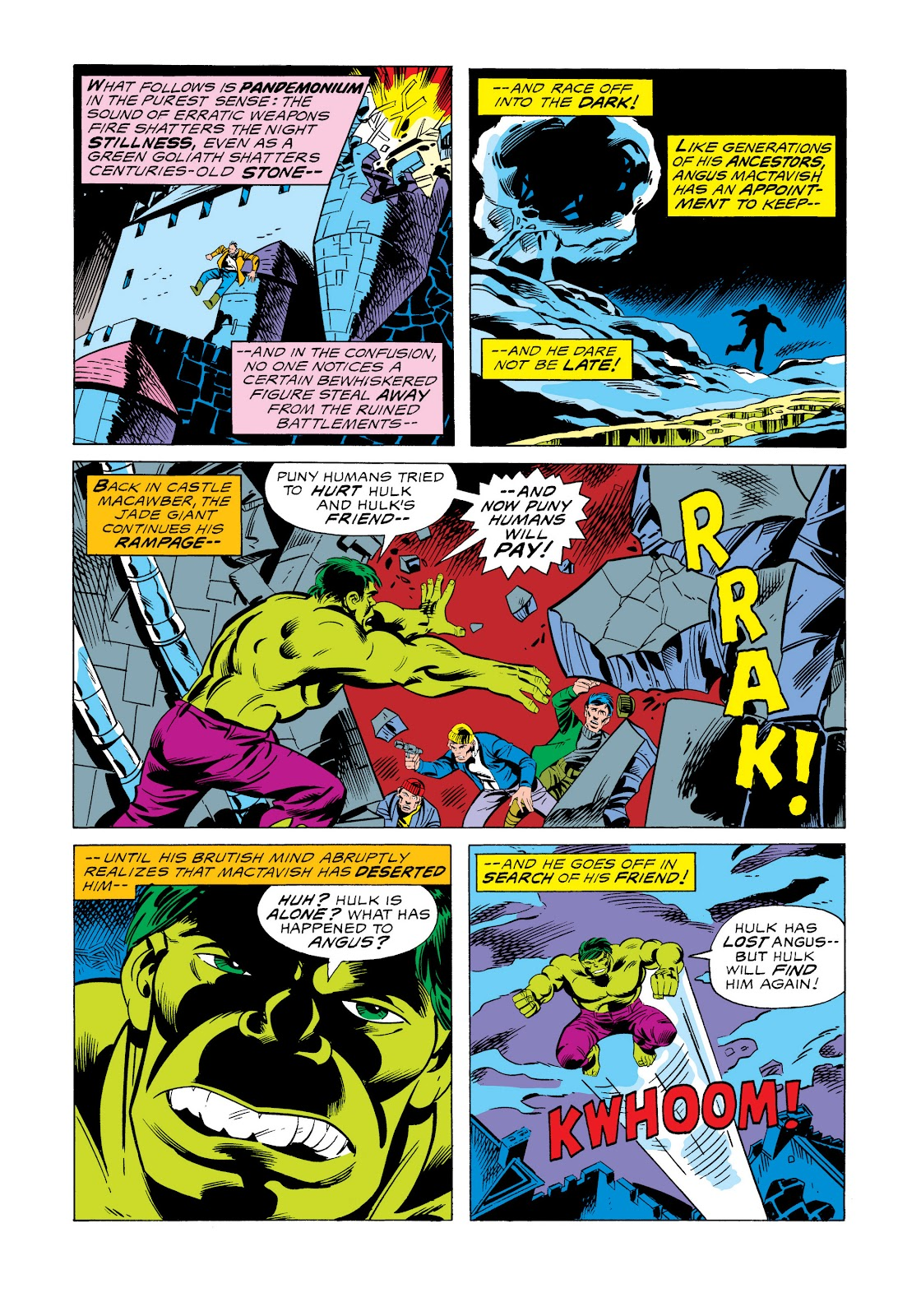 Read online Marvel Masterworks: The Incredible Hulk comic -  Issue # TPB 11 (Part 2) - 69