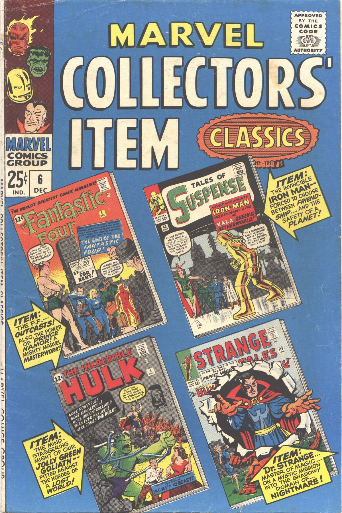 Marvel Collectors Item Classics 6 Page 1