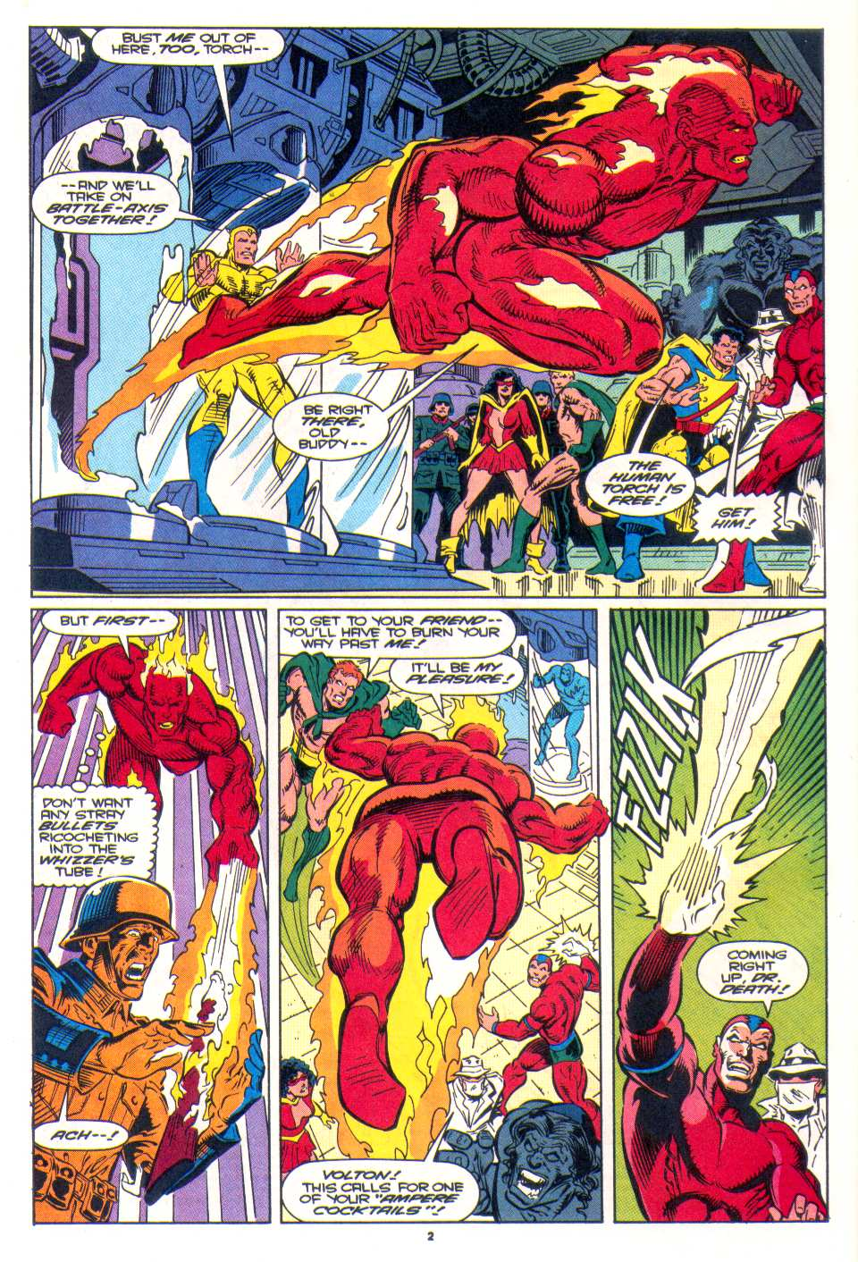 Read online The Invaders (1993) comic -  Issue #3 - 3