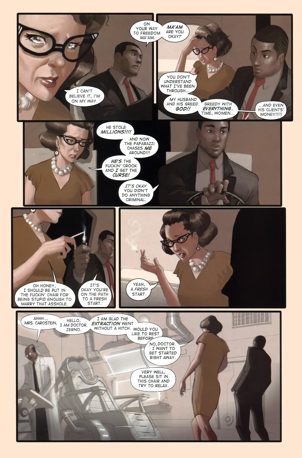 Read online Vescell comic -  Issue #1 - 4