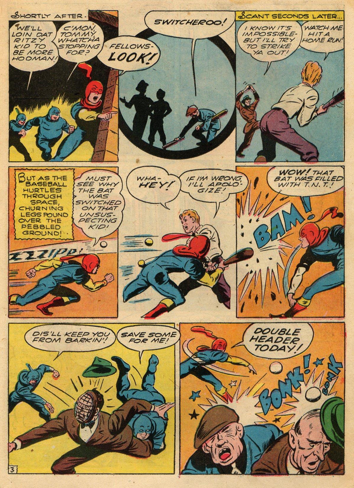 Read online Sensation (Mystery) Comics comic -  Issue #22 - 27
