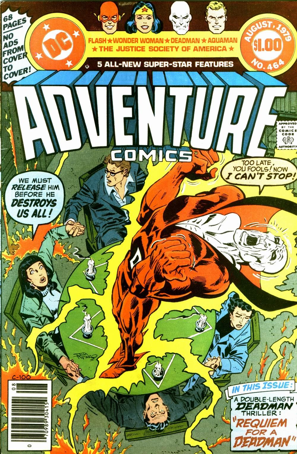 Read online Adventure Comics (1938) comic -  Issue #464 - 1