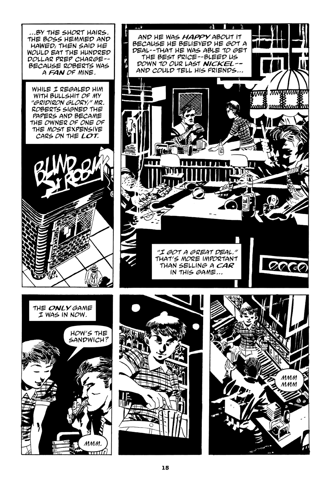 Read online Filthy Rich comic -  Issue # TPB (Part 1) - 17