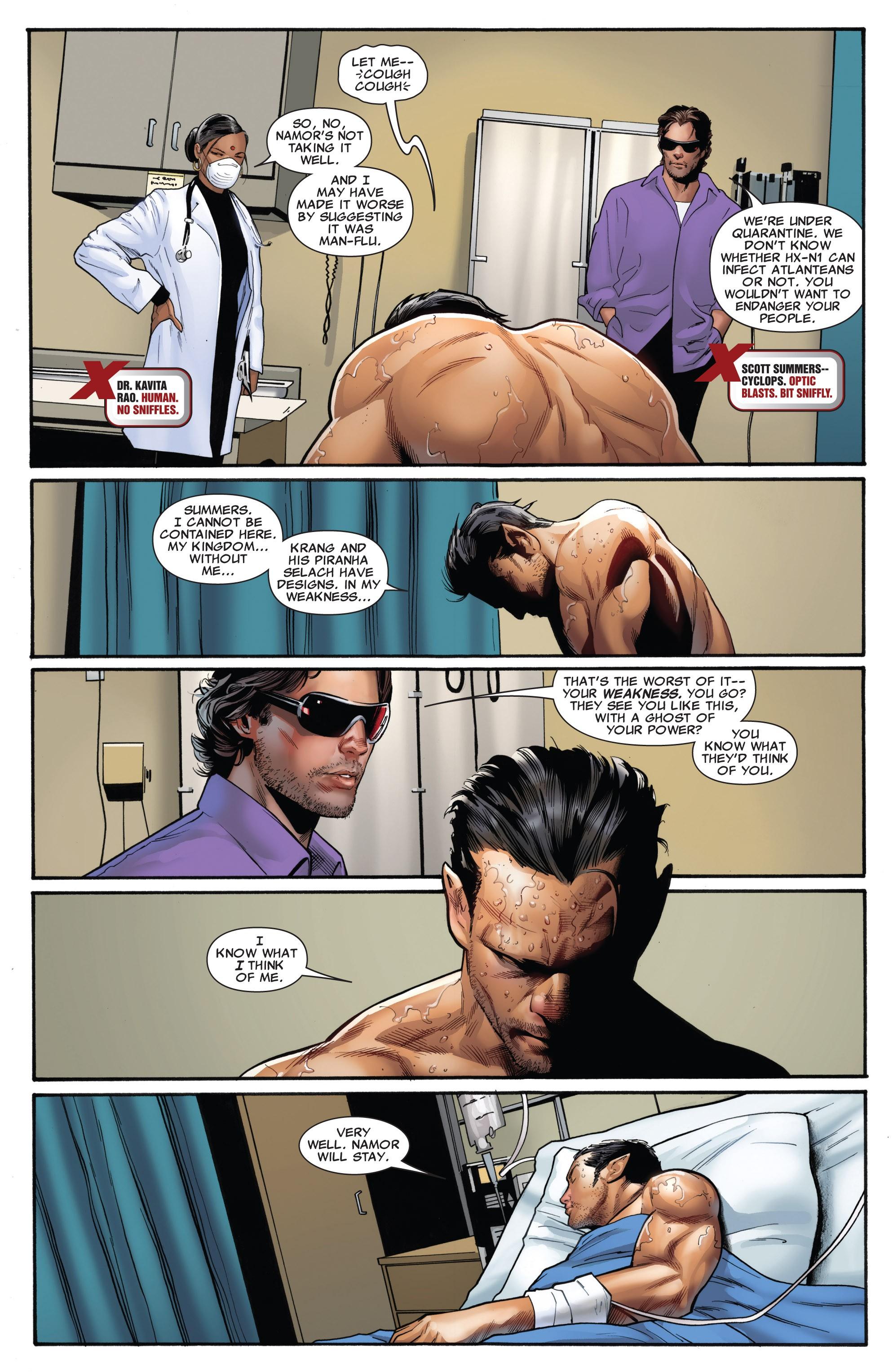 Read online Uncanny X-Men (1963) comic -  Issue #531 - 4
