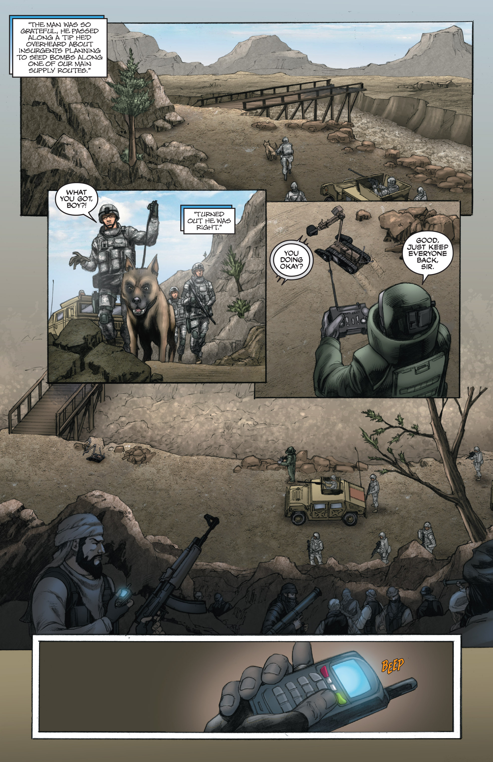 Read online America's Army comic -  Issue #14 - 11