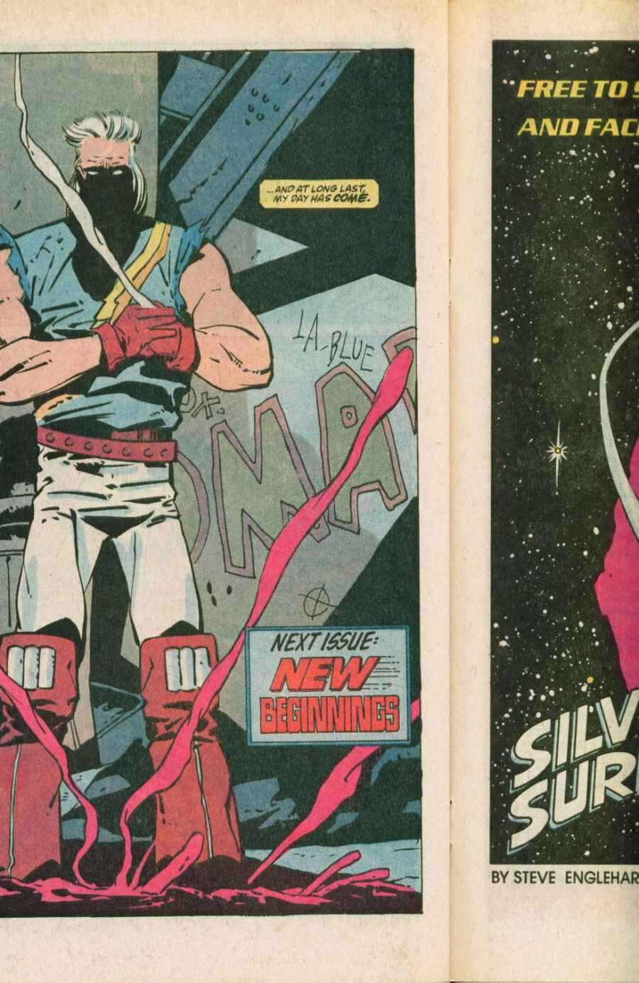 Read online Justice (1986) comic -  Issue #11 - 23