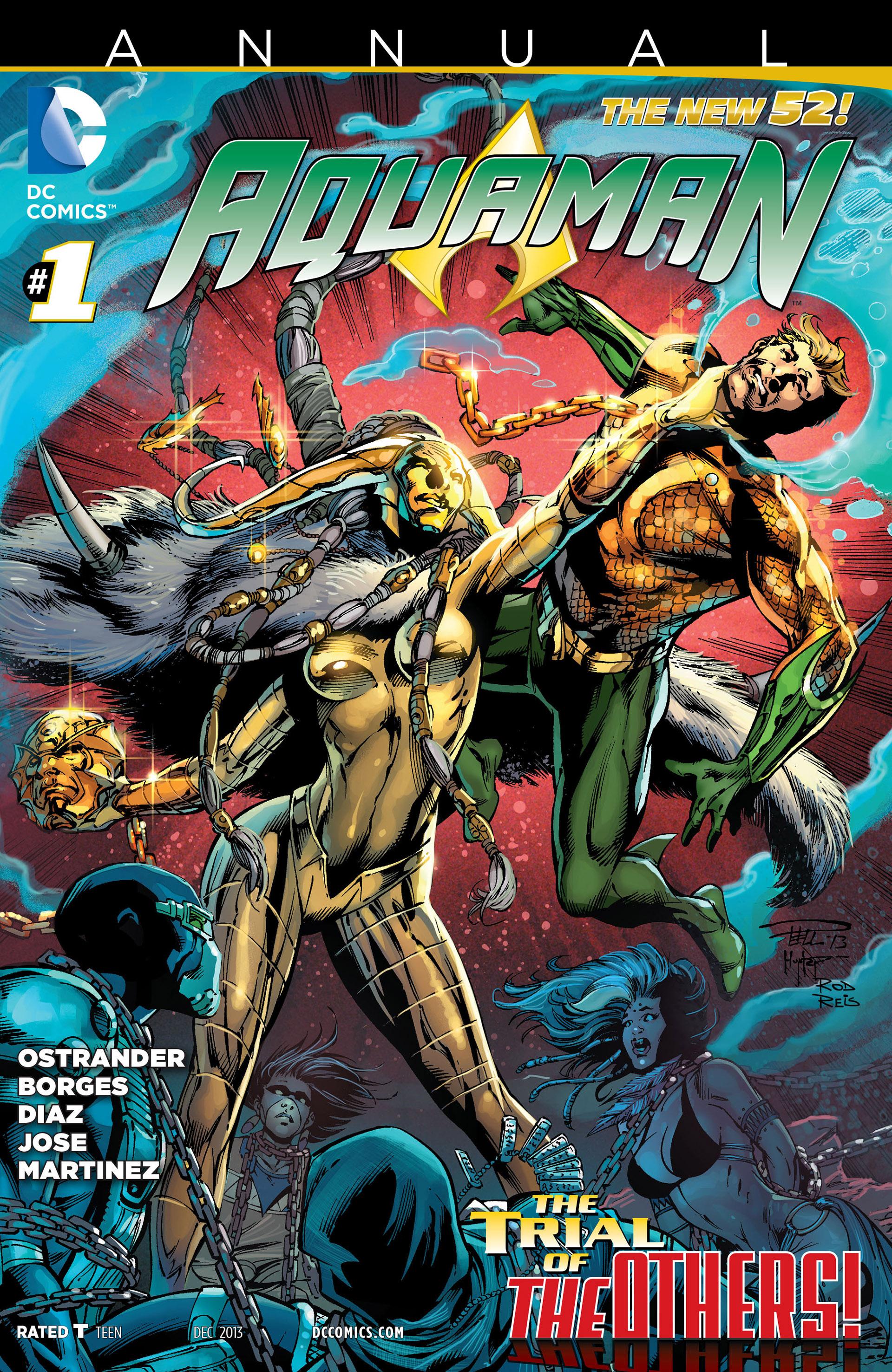 Read online Aquaman (2011) comic -  Issue #Aquaman (2011) _Annual 1 - 1