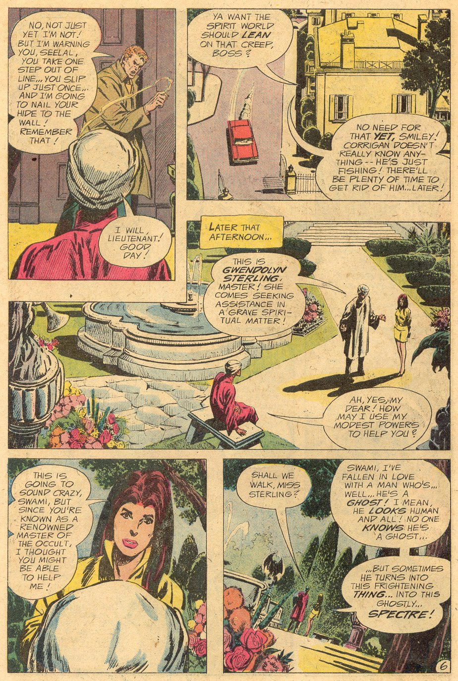 Read online Adventure Comics (1938) comic -  Issue #433 - 8