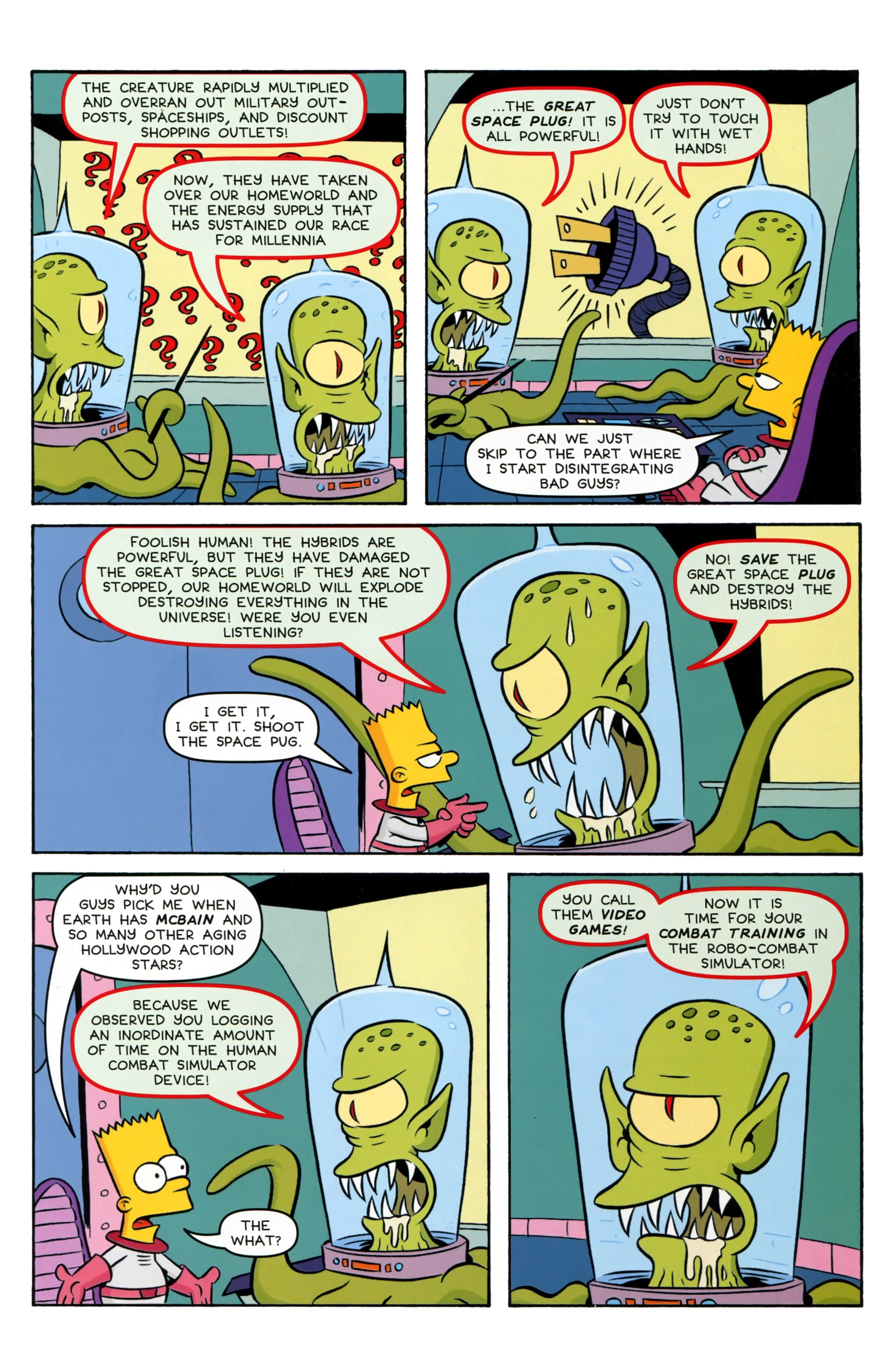 Read online Simpsons Comics Presents Bart Simpson comic -  Issue #97 - 21