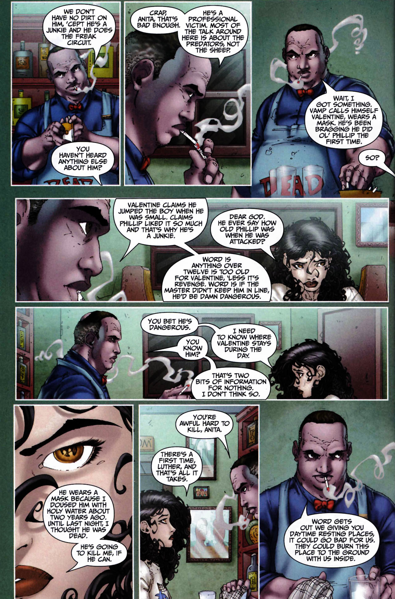 Read online Anita Blake, Vampire Hunter: Guilty Pleasures comic -  Issue #6 - 4