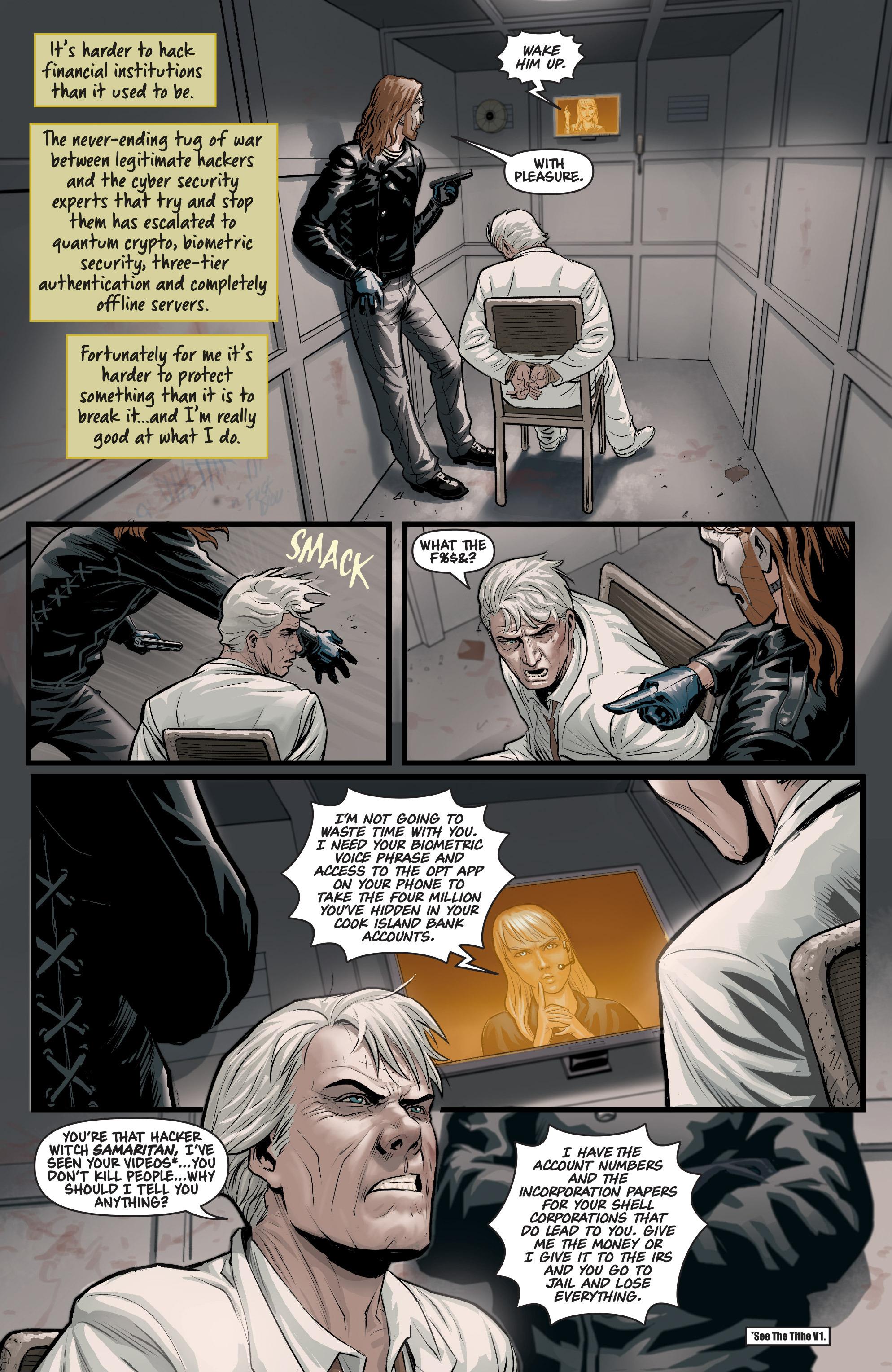 Read online Samaritan: Vertias comic -  Issue #1 - 15