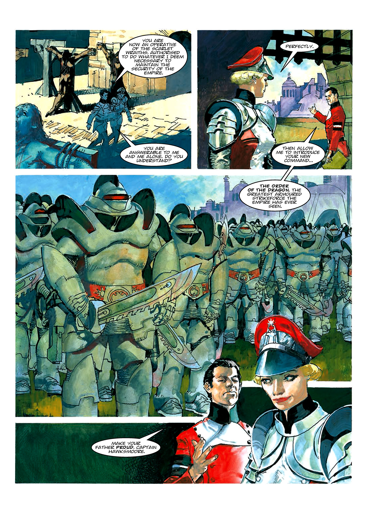 Read online Nikolai Dante comic -  Issue # TPB 10 - 12