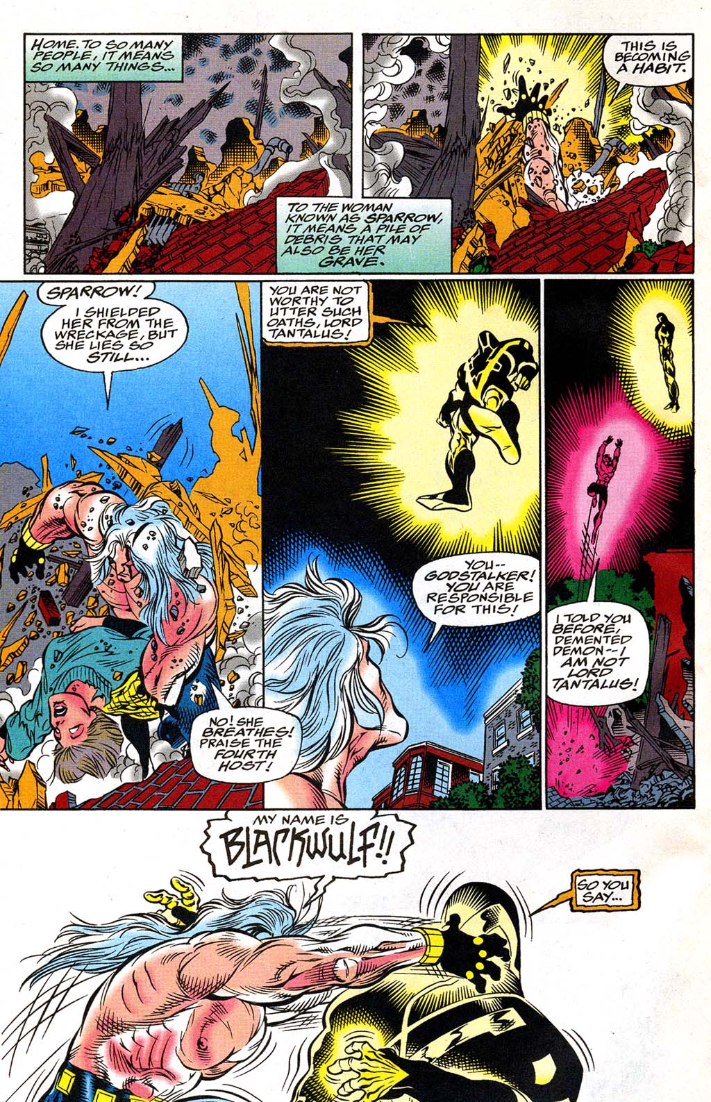 Read online Blackwulf comic -  Issue #8 - 4