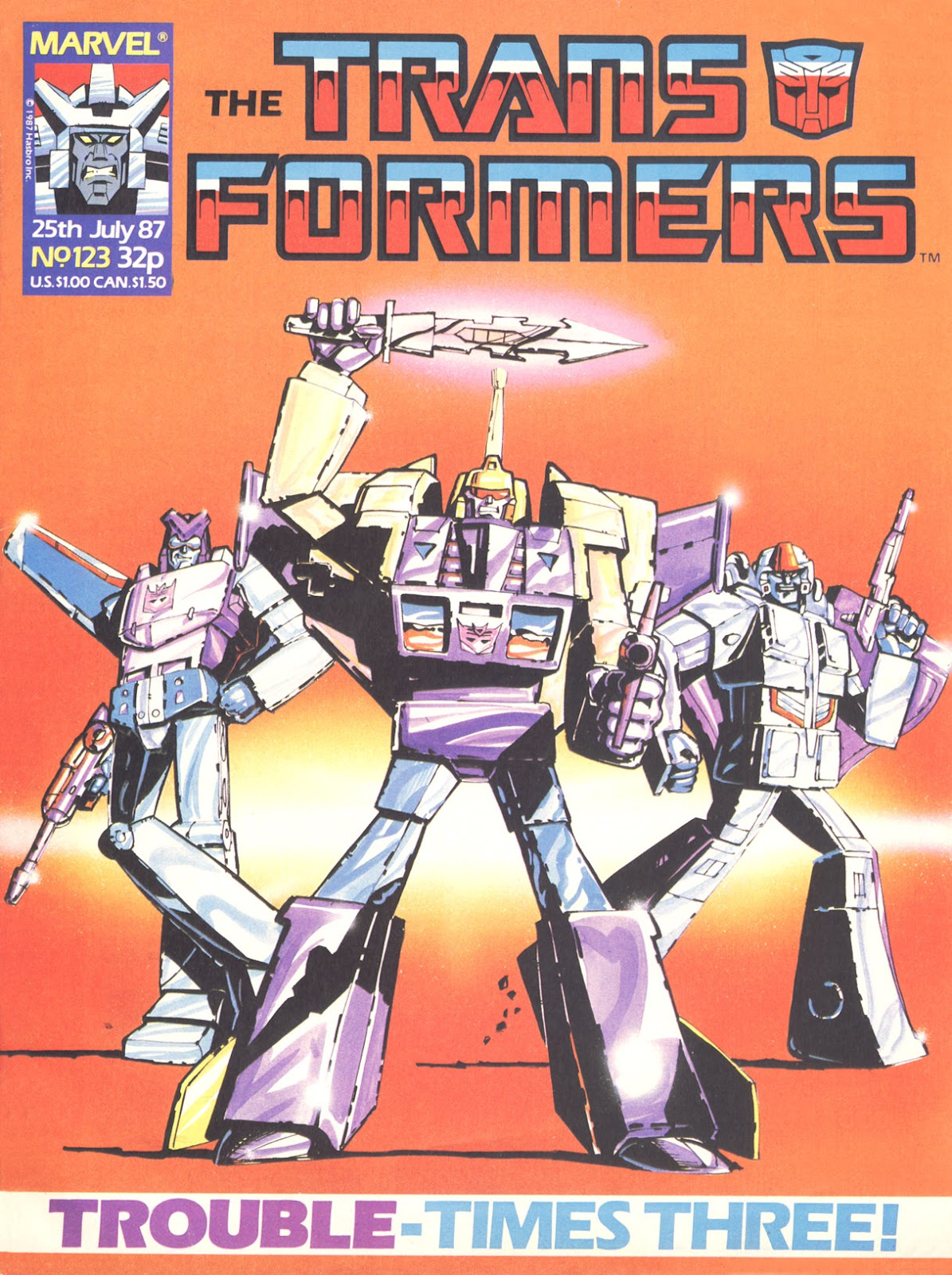The Transformers (UK) 123 Page 1