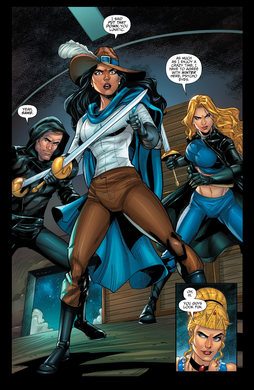 Read online Grimm Fairy Tales: 2019 Armed Forces Edition comic -  Issue # Full - 6