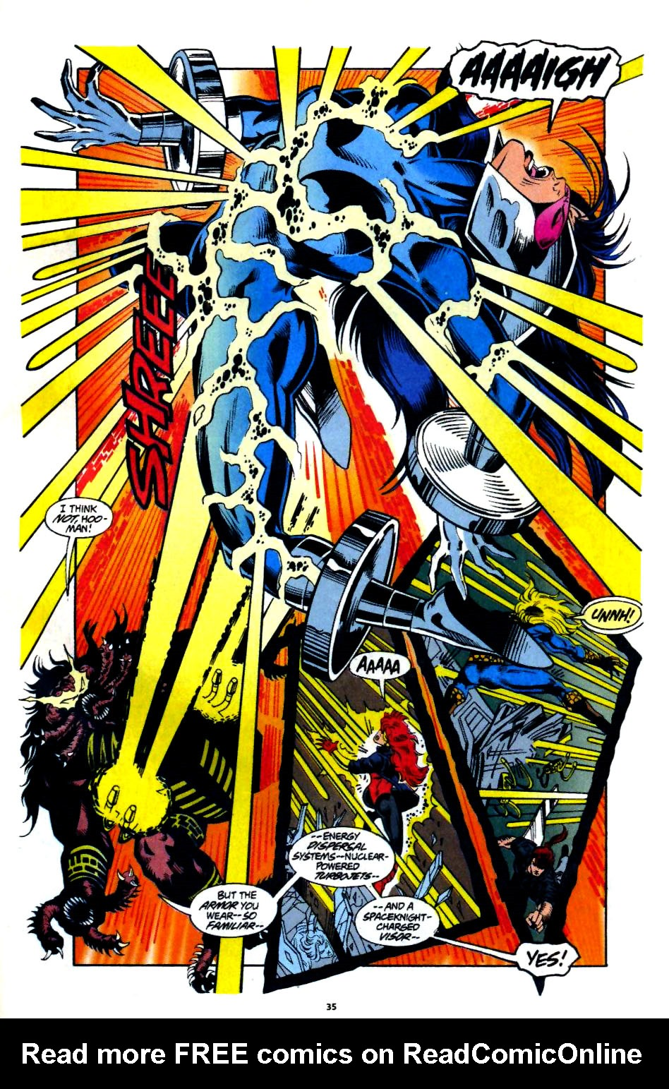 The New Warriors Issue #60 #64 - English 27