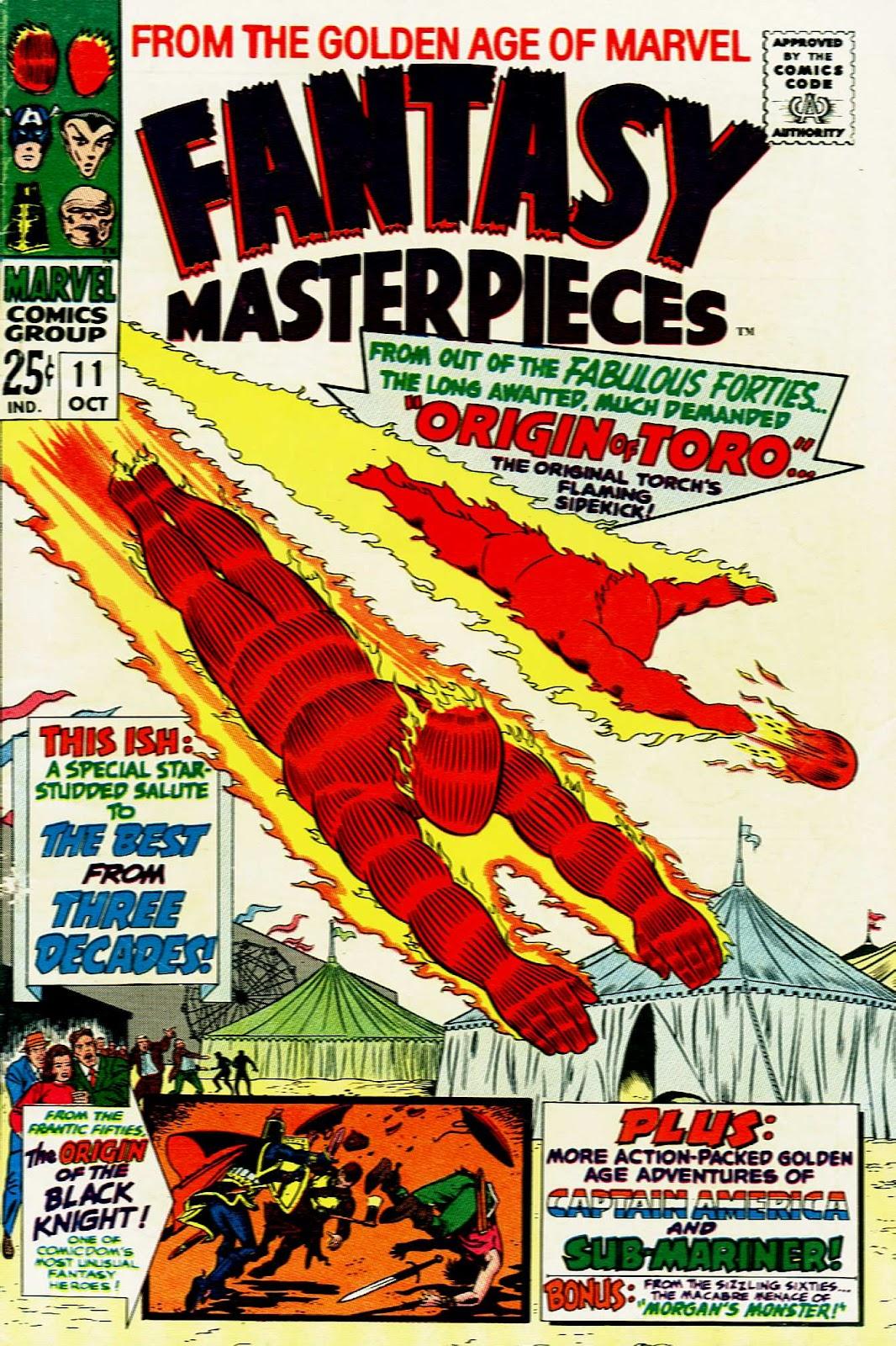 Fantasy Masterpieces 11 Page 1