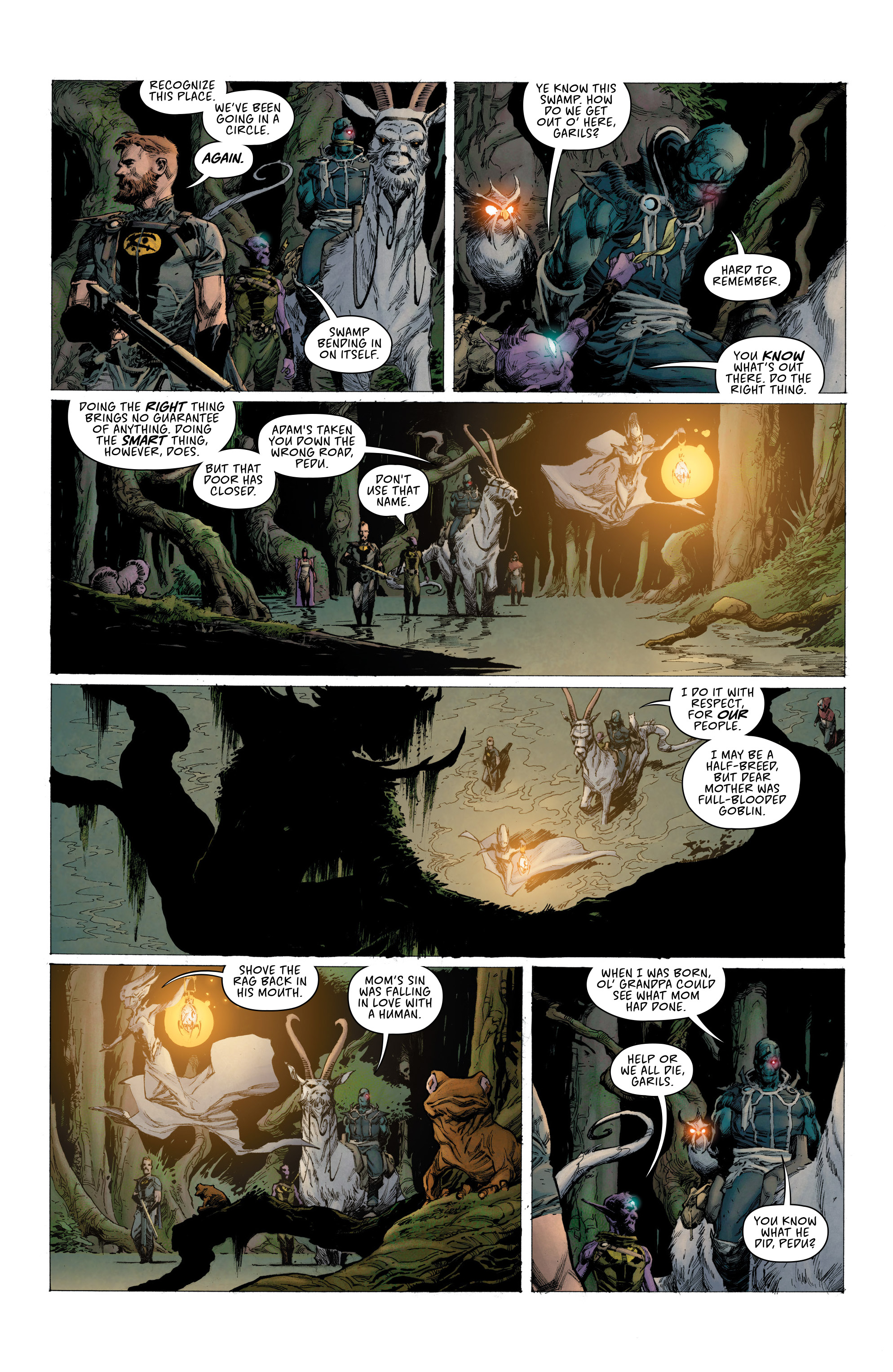 Read online Seven To Eternity comic -  Issue #6 - 7