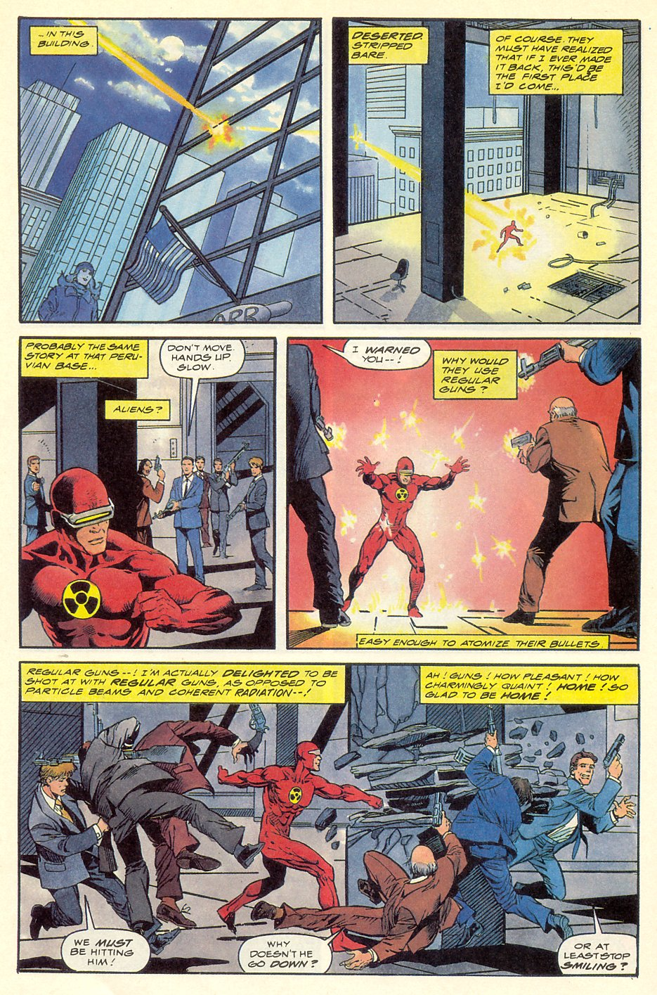 Read online Solar, Man of the Atom comic -  Issue #8 - 14