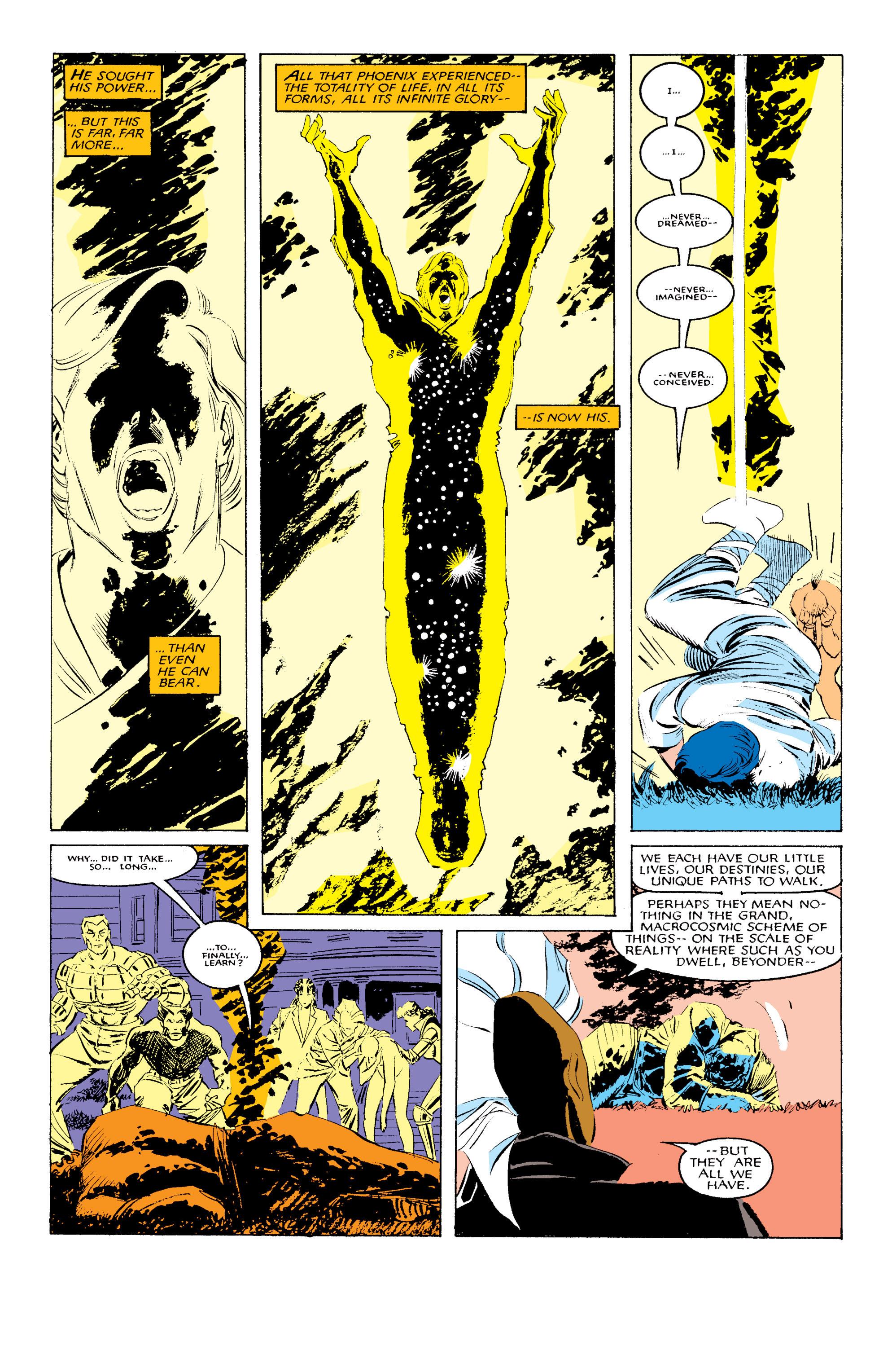 Read online Uncanny X-Men (1963) comic -  Issue #203 - 22