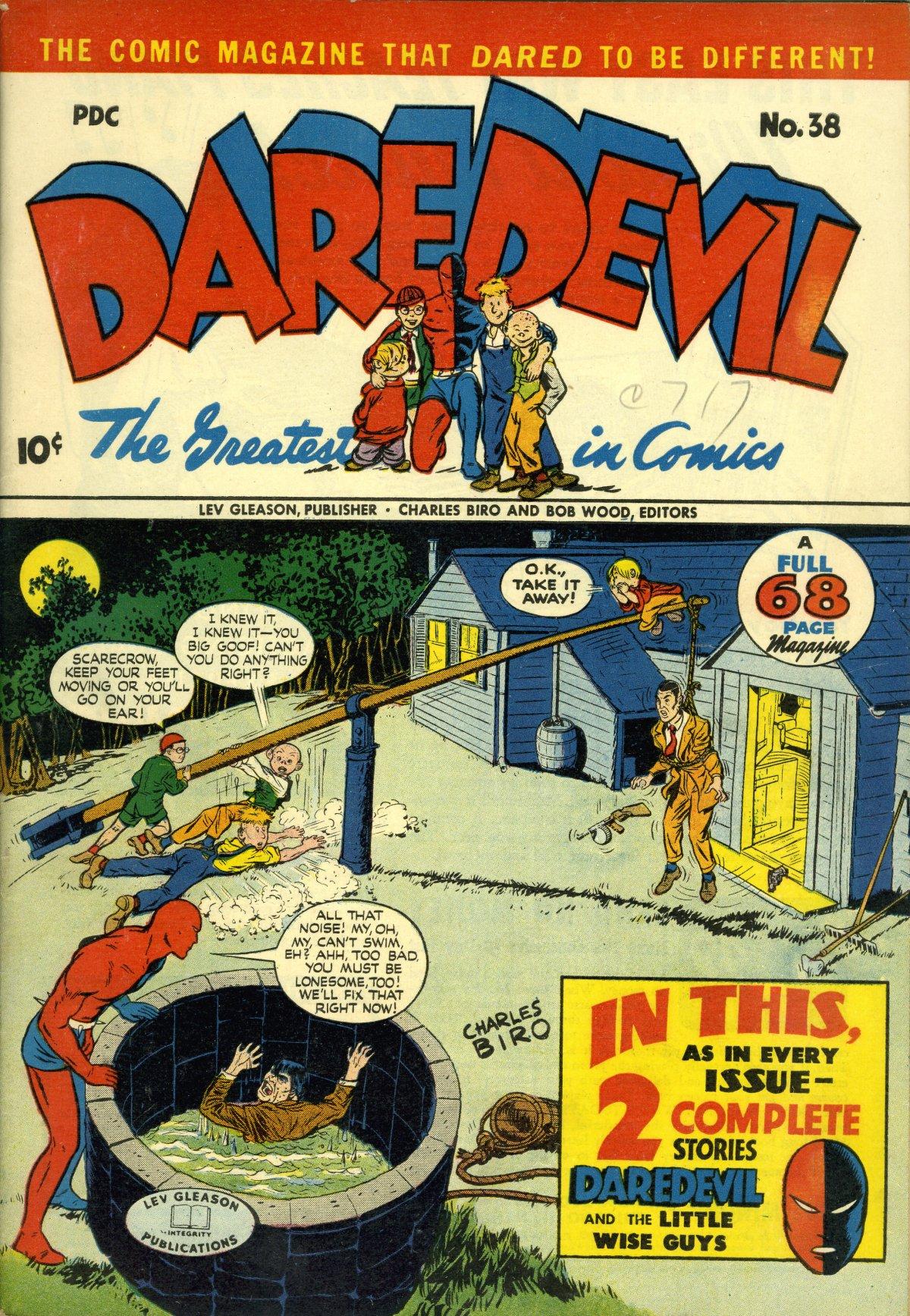 Daredevil (1941) 38 Page 1